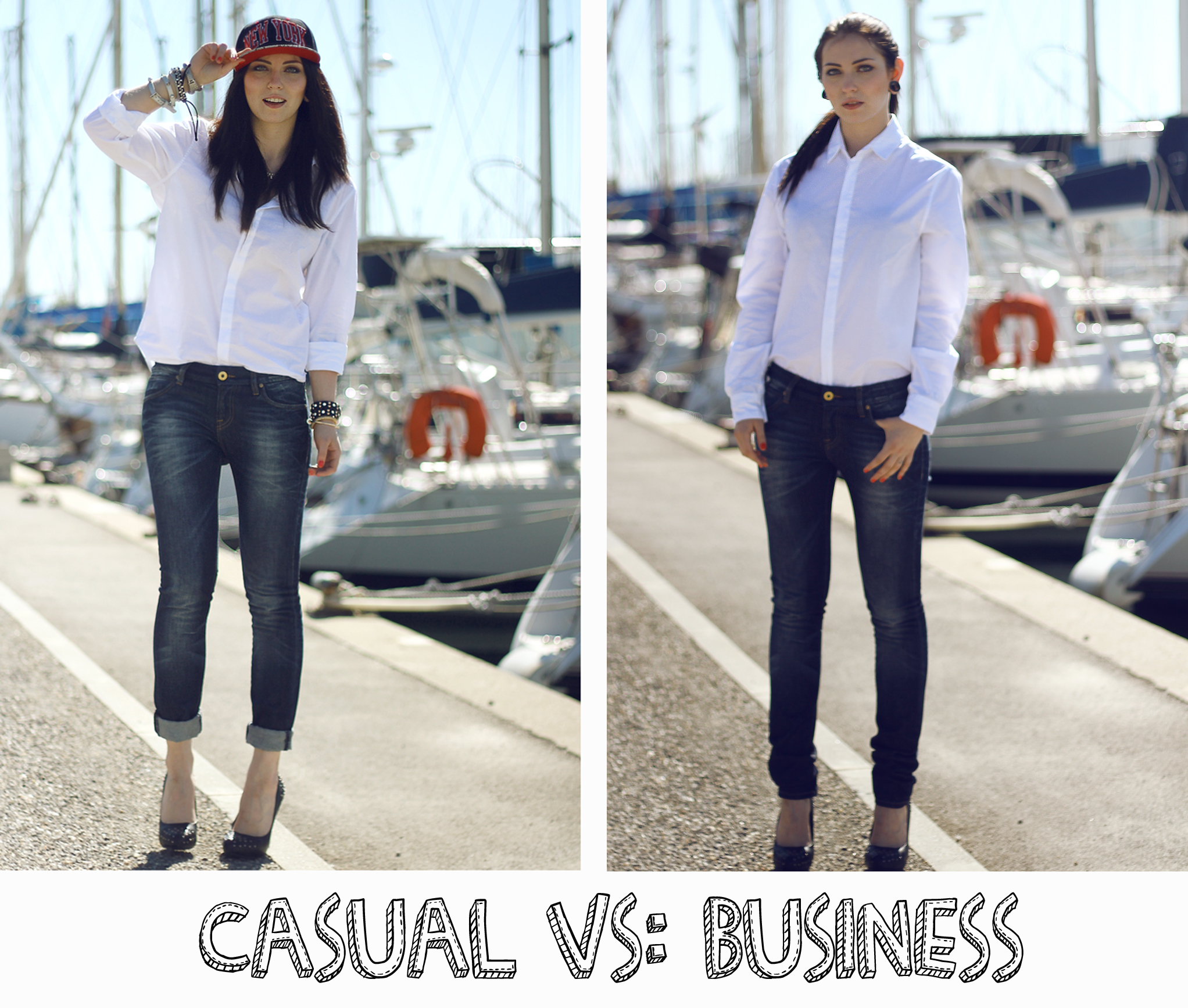 Outfit Casual Vs Business Fashion Blog From Germany Modeblog
