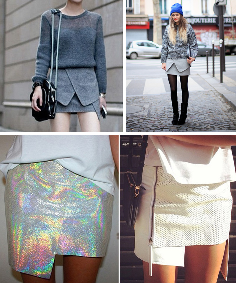 outfit the origami skirt � hot or not fashion blog