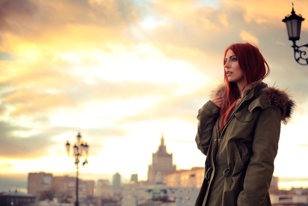 moscow moskau landscape masha sedgwick november beautiful sonnenuntergang mode fashion blogger shopping iq parka
