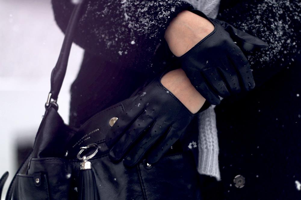 Schnee Berlin Masha Sedgwick hunter Leder Sacha Rock Winter Look Mode