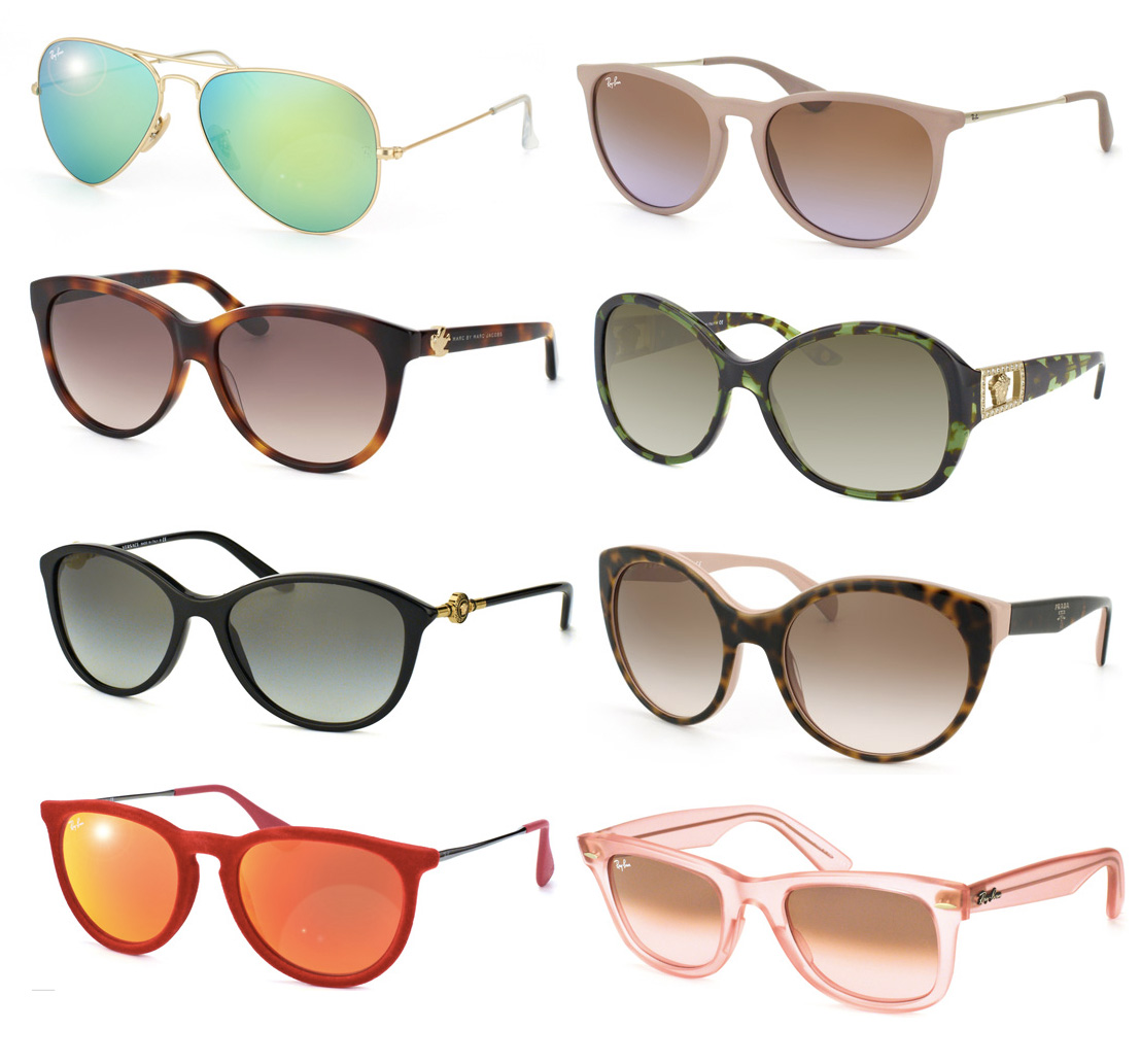 Masha sedgwick sonnenbrille misterspex perfekte trend 2014 prada ray-ban versace