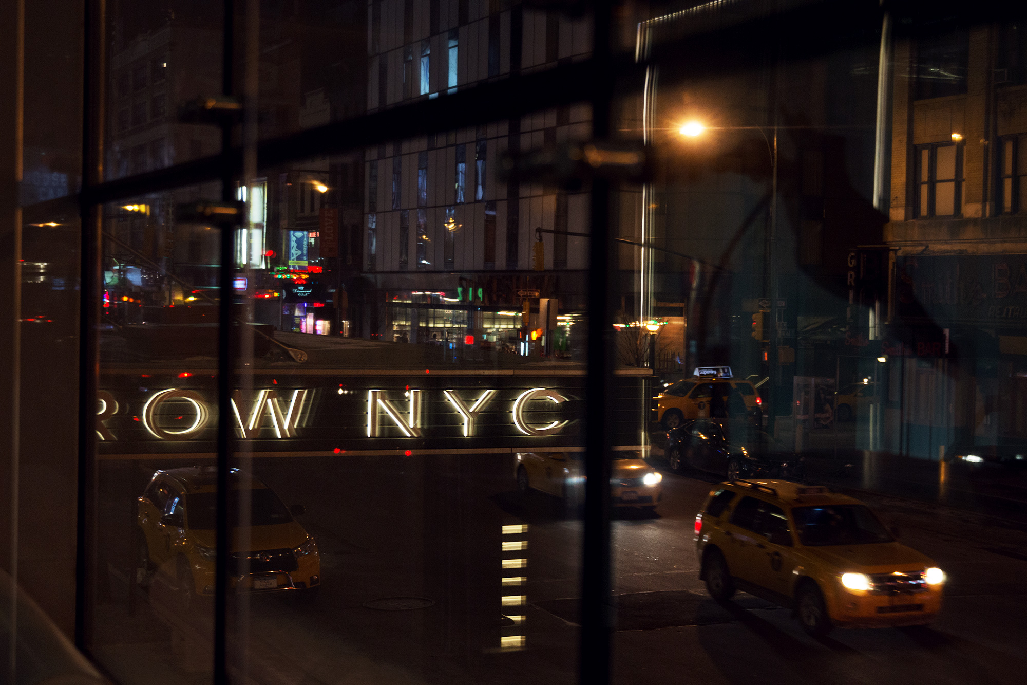 row nyc new york city times square hotel review