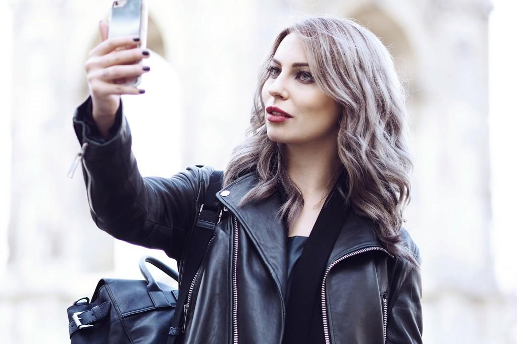 Das perfekte po selfie