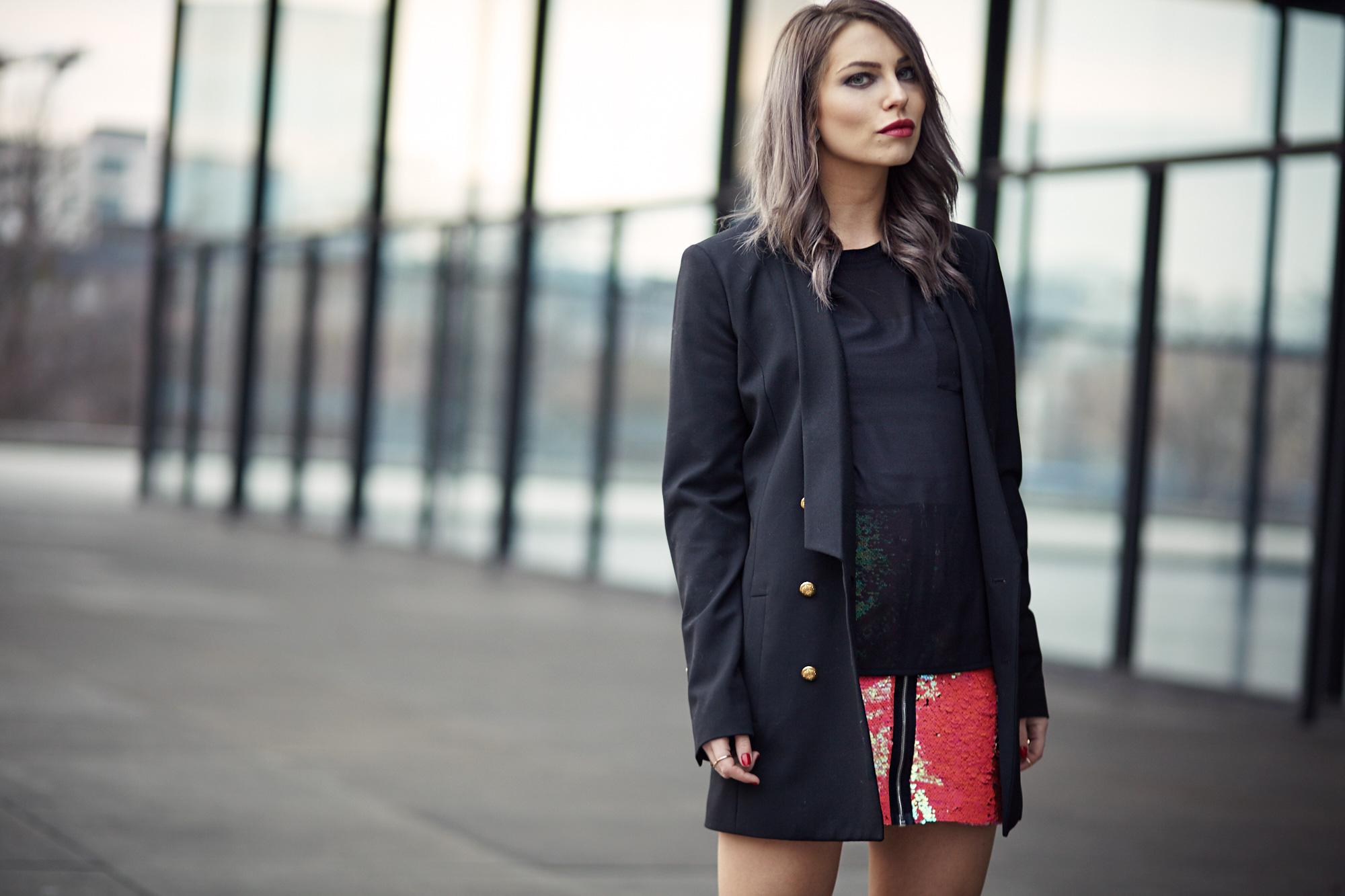Sequins & Black