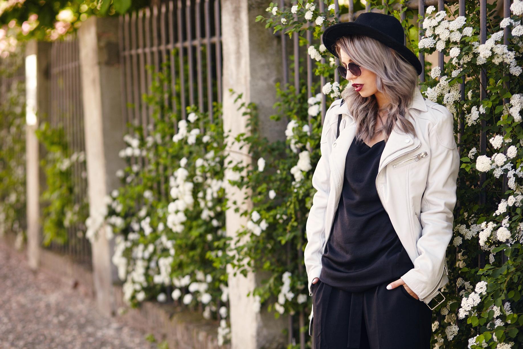 The White Leather Jacket