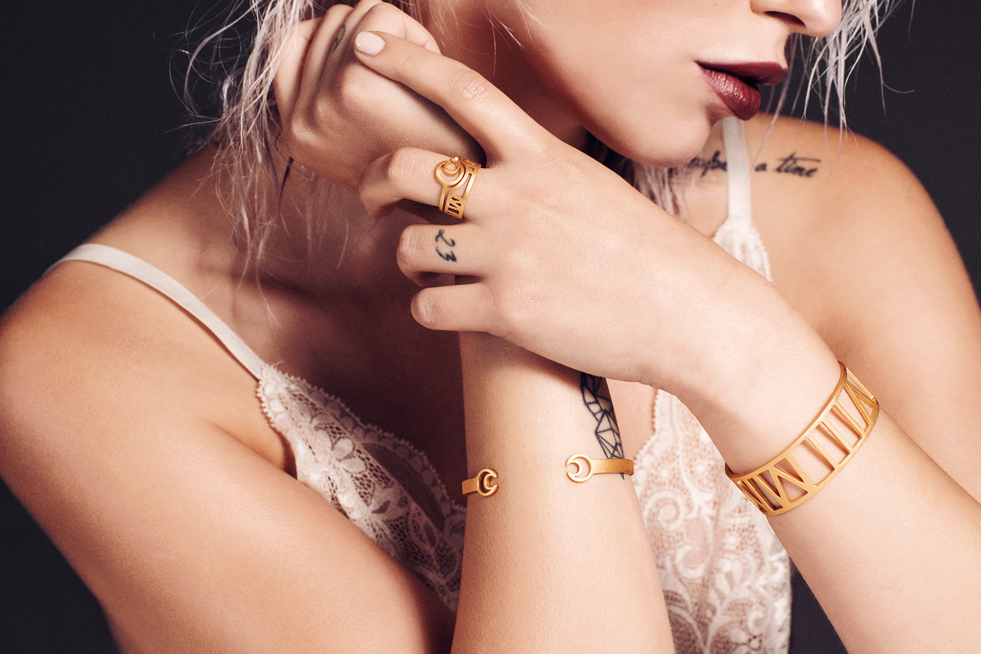 Masha Sedgwick's first jewelry collection