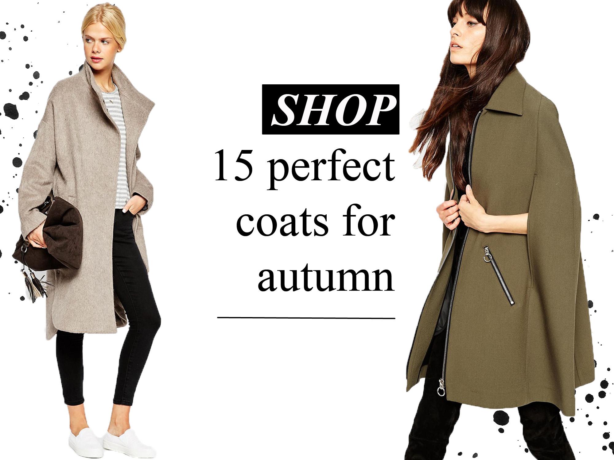 Autumn Coats: 15 Under 250 EuroAutumn Coats: 15 Under 250 Euro15 осенних курток и пальто до 250 евро
