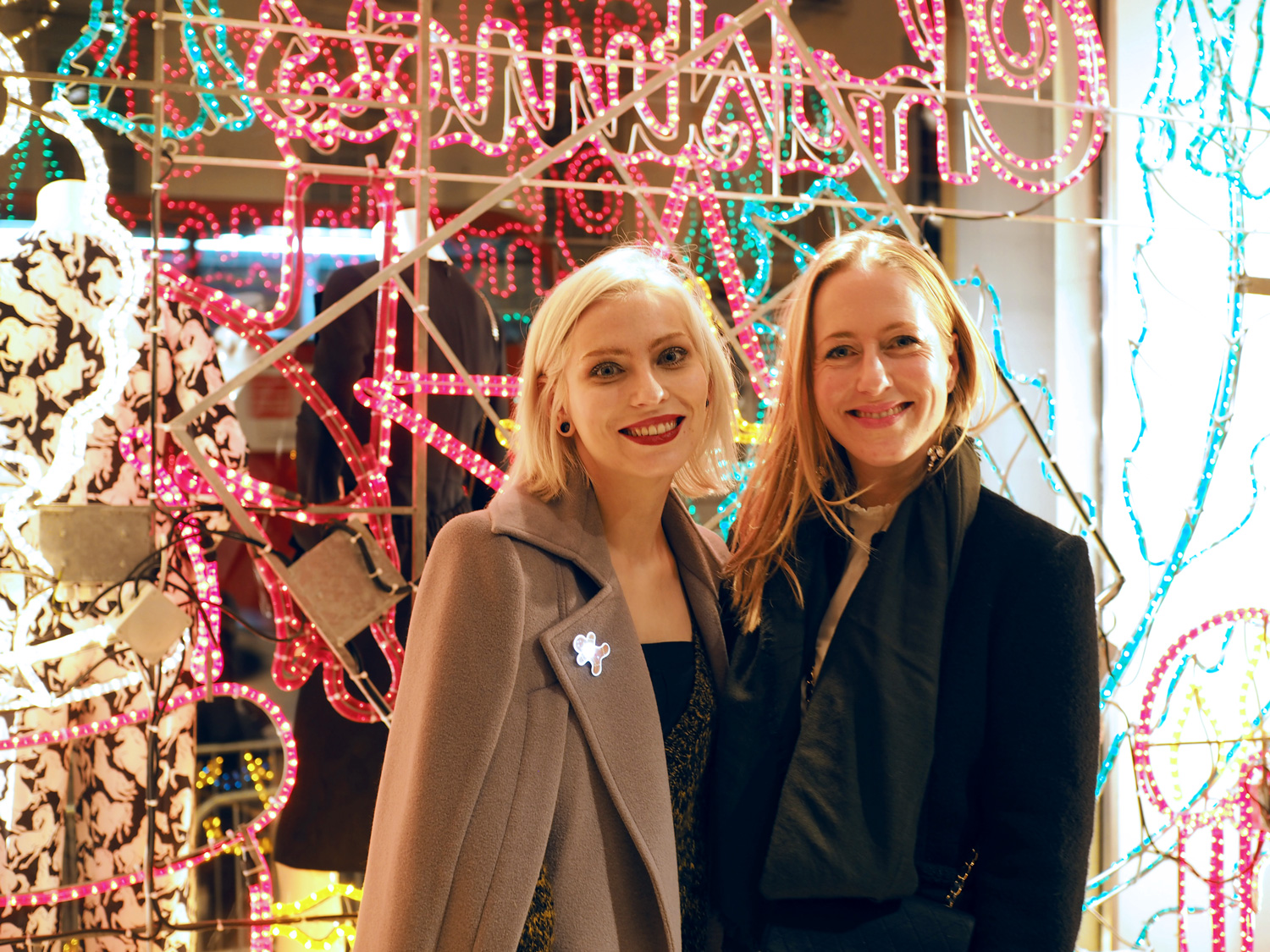 view more details on my blog   Stella McCartney Christmas Lights Party 2015 in London