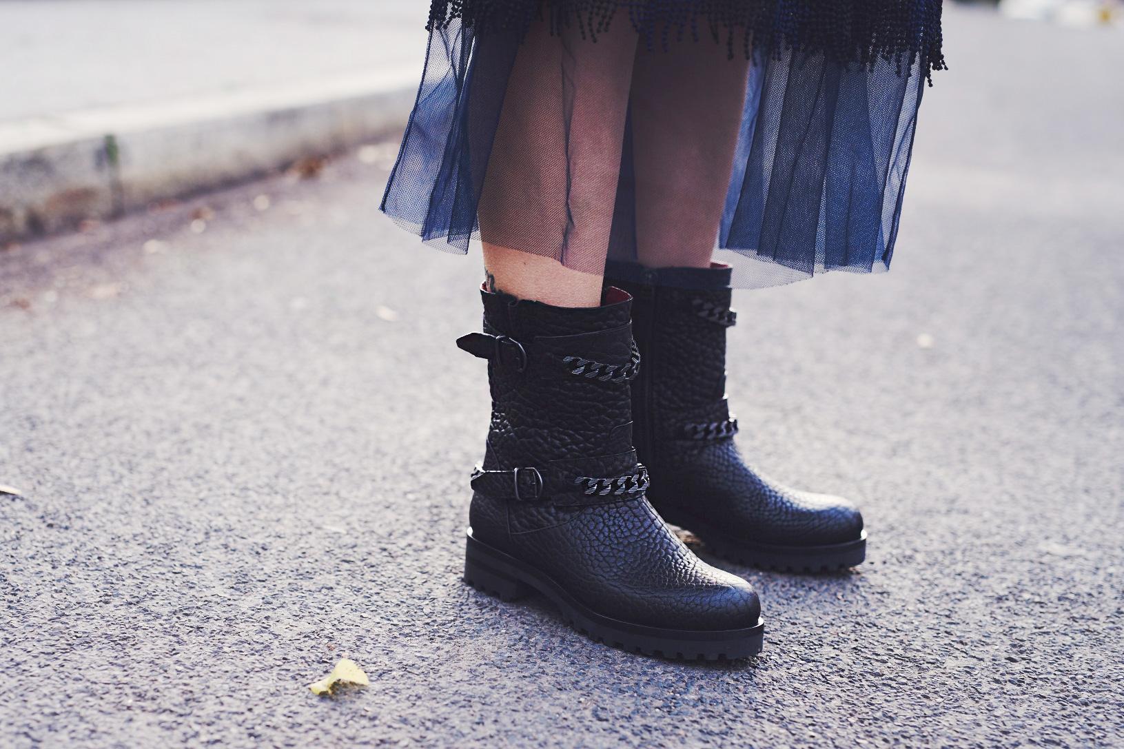 view more details on my blog   via Masha Sedgwick, fashion blogger from Berlin   wearing Pinko, Bally, Gestuz, Lili Radu