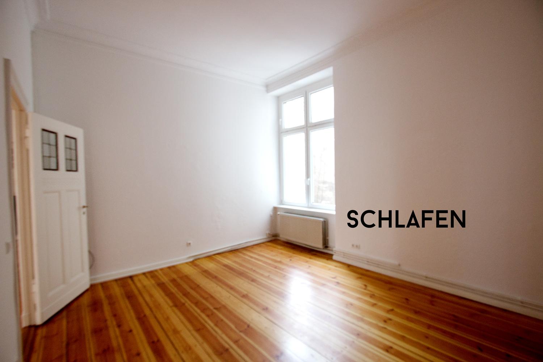 view more details on my blog | our new apartment in Berlin Mitte | unsere neue Wohnung in Berlin Mitte | Altbau, Berliner Zimmer, Stuck, Fischgrätenparkett
