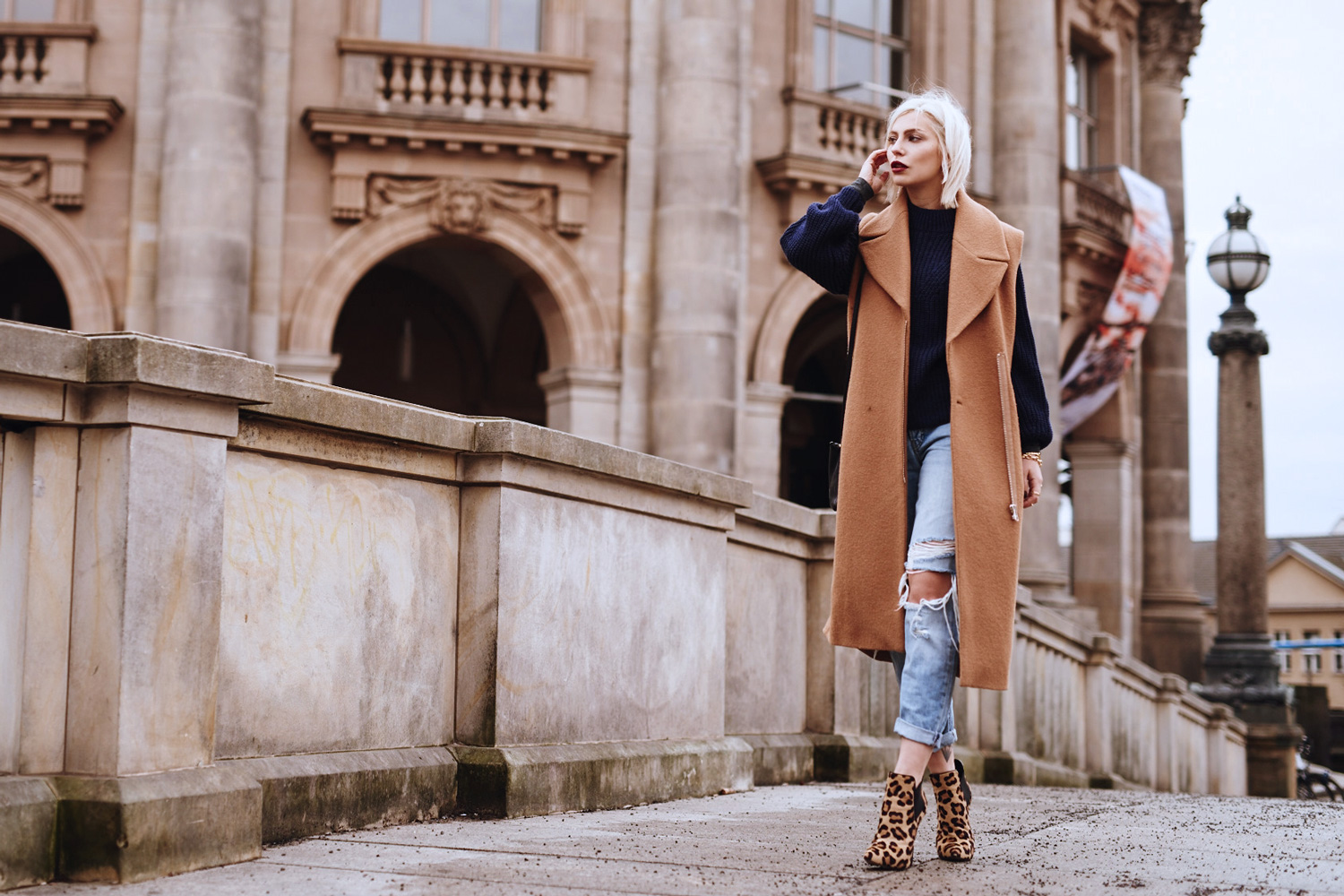 view more details on my blog | blue jeans & leo shoes | outfit, fashion, style