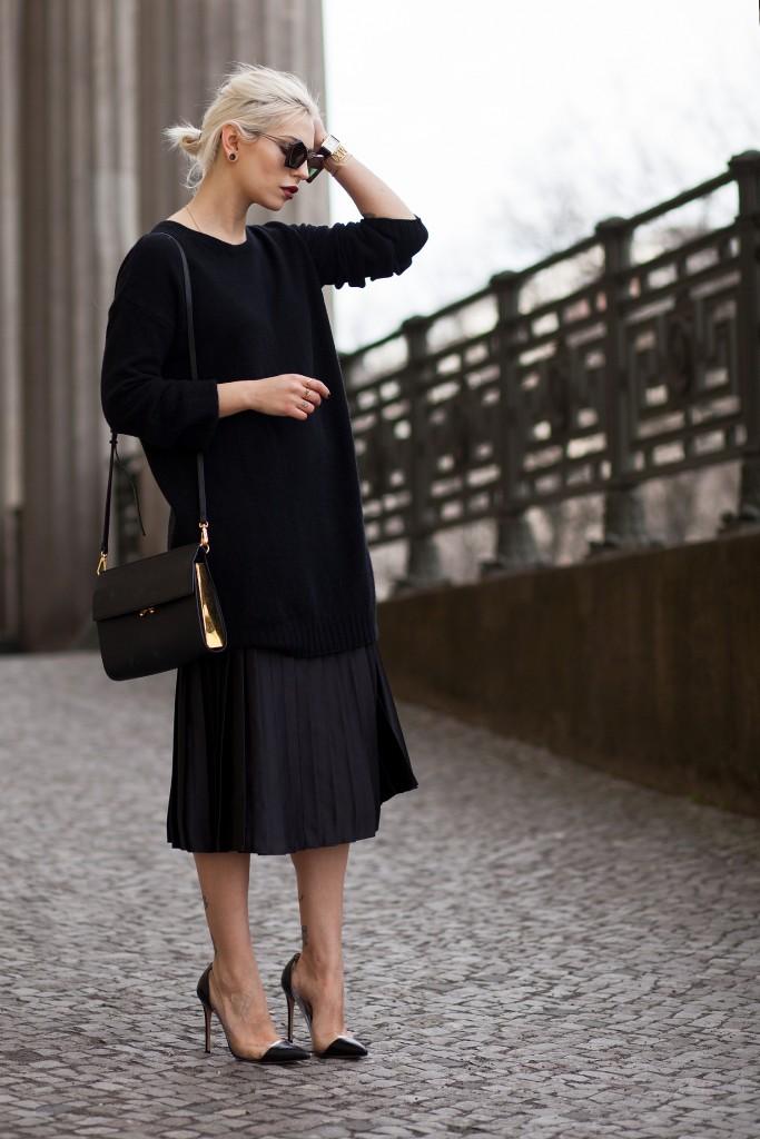 der midi rock the midi skirt fashion blog from germany modeblog aus deutschland. Black Bedroom Furniture Sets. Home Design Ideas