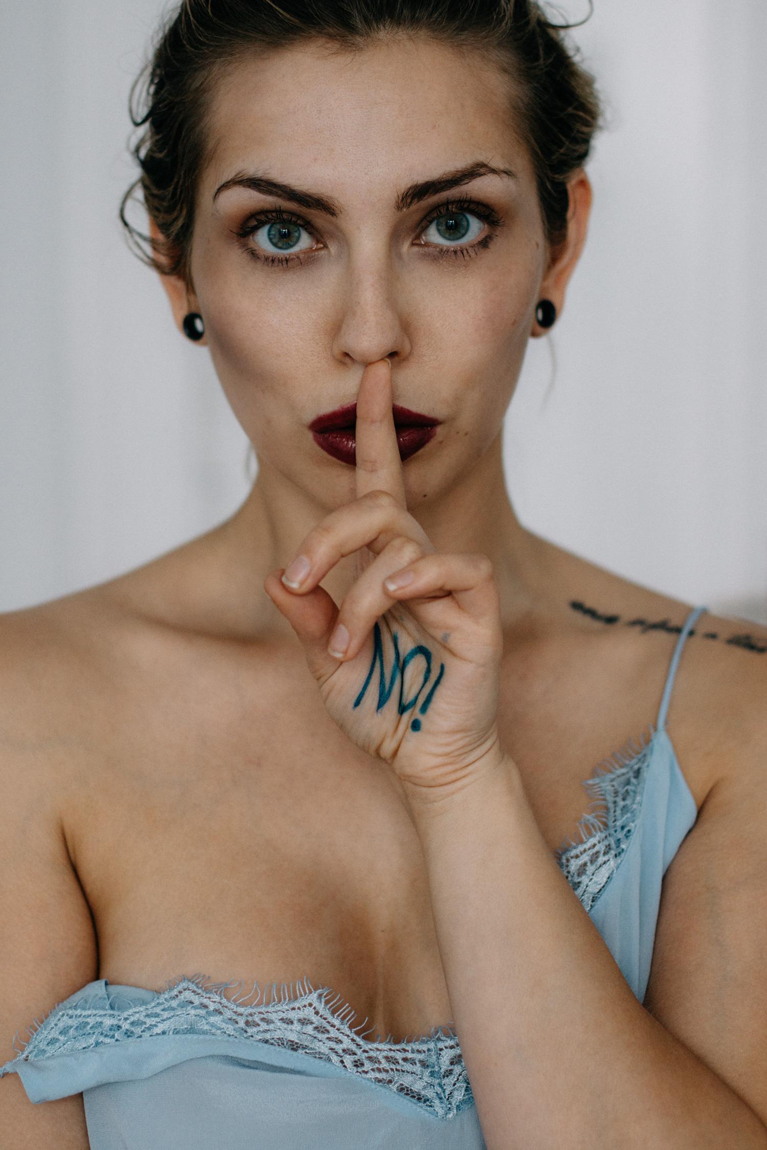 Nein heisst nein! | No means no! | Sonntagspost | find more pictures on my blog | Gina Lisa Lohfink Prozess | Vergewaltigung | sexualstrafrecht Reform |
