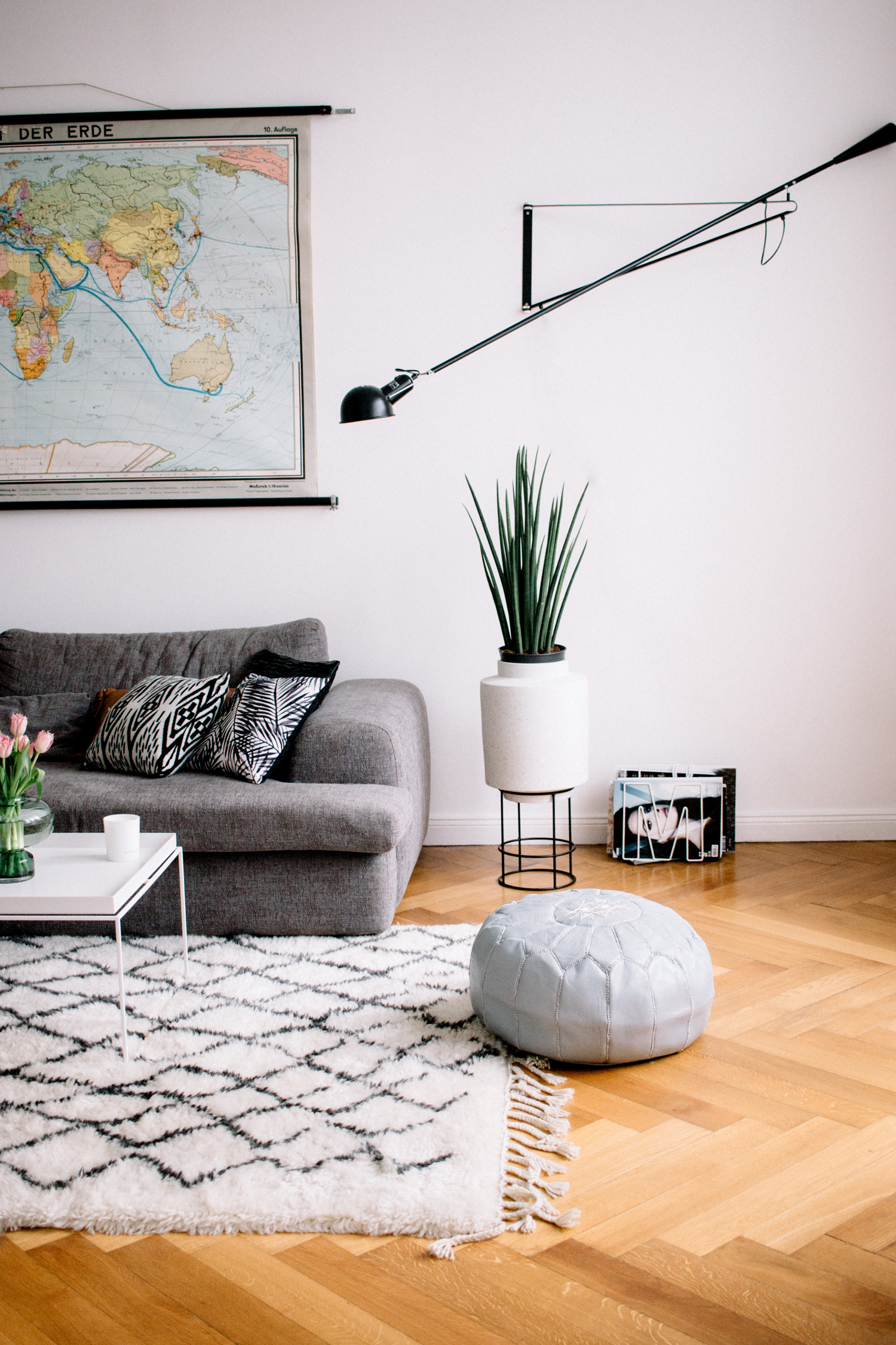Living Room | Find More Pictures Of My Berlin Apartment In Mitte On My Blog  |
