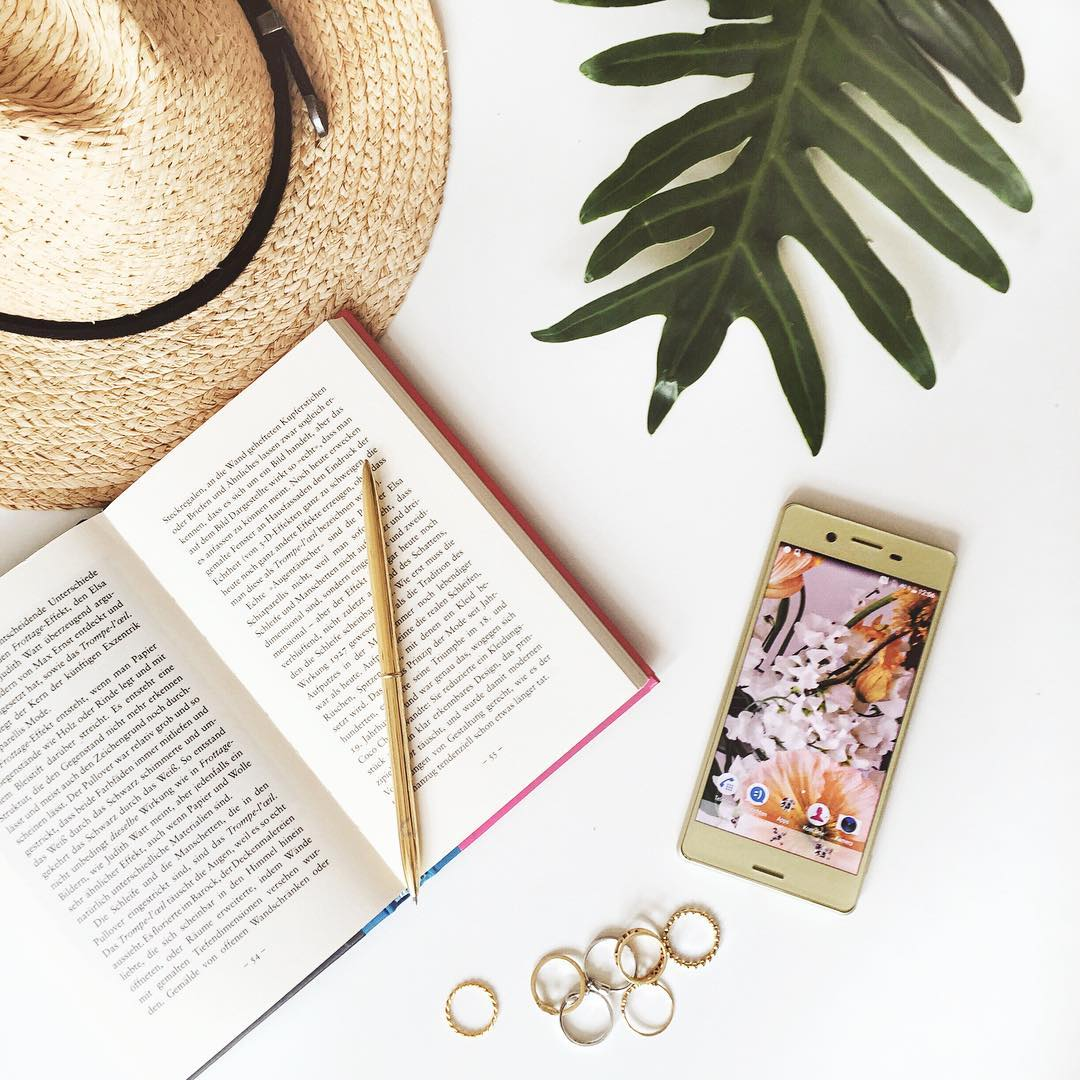 My summer essentials with Sony Xperia