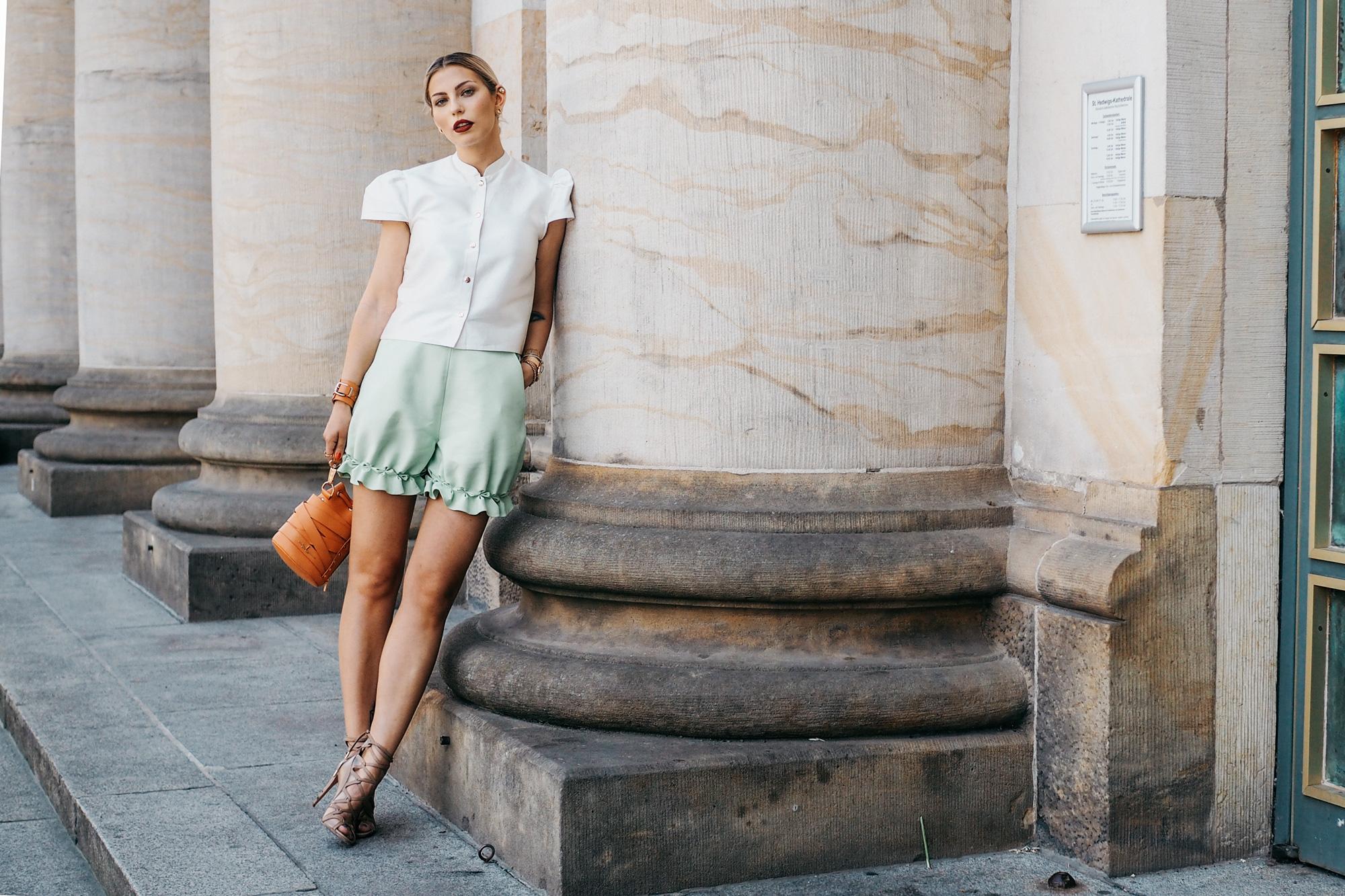 Outfit: Marina Hörmannseder | Fashion Week Berlin | SS16