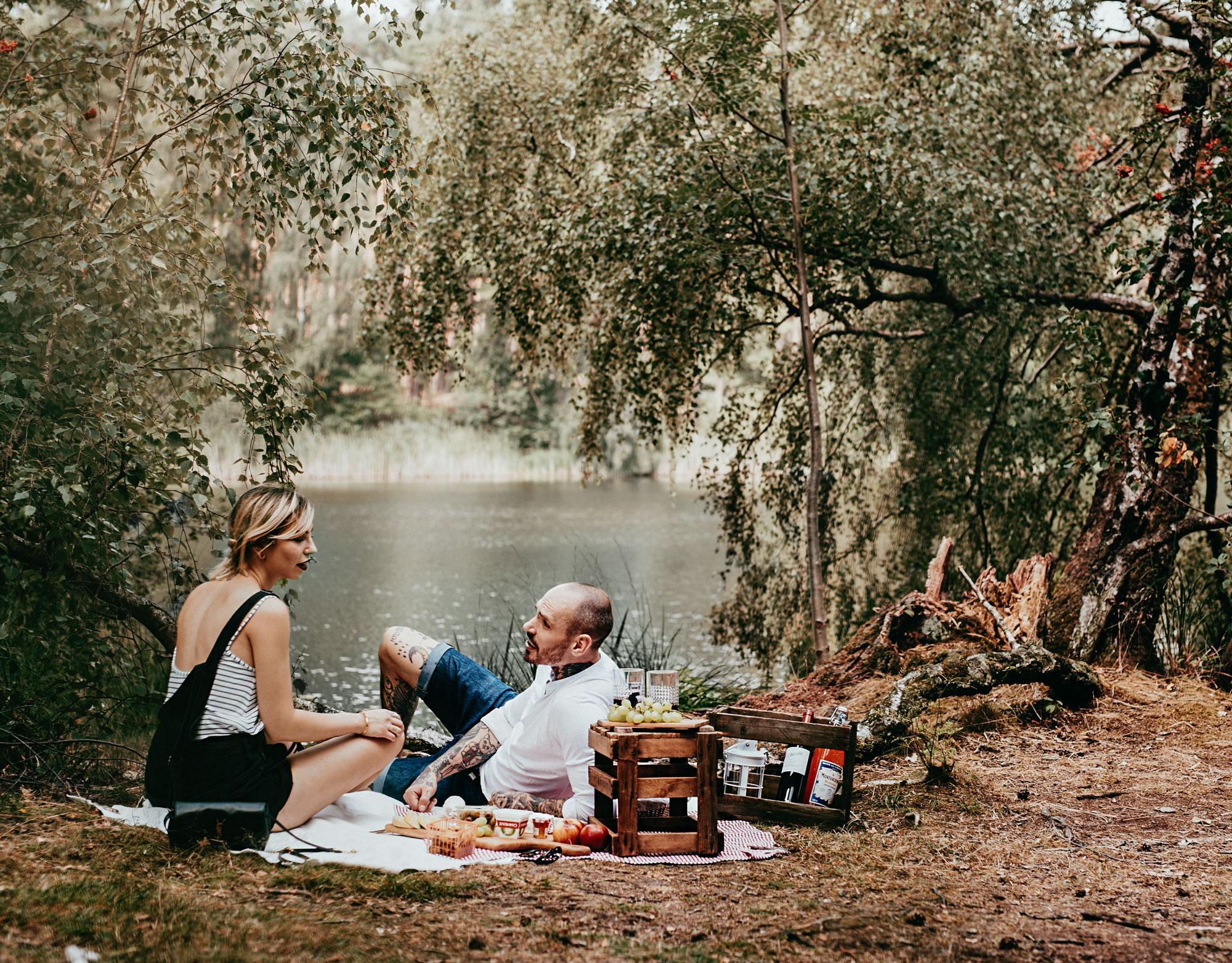 YSL Mon Paris   Masha & her boyfriend Swen   french picknick   Berlin Müggelsee   find more pictures on my blog