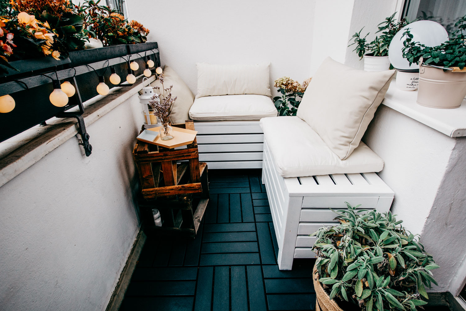 How to: decorate a small balcony | Berlin | inspiration