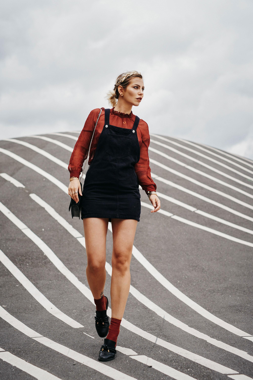 Superkilen Kopenhagen   модная статья   стиль: игривый, осенний, горячий   dungarees от Topshop