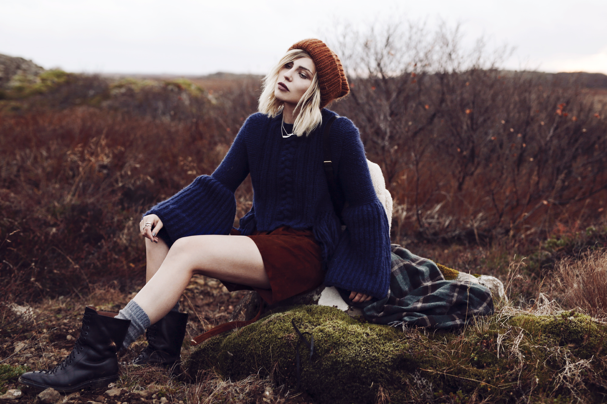 Trachtenmode modern interpretiert | Bergsteiger | style: german, folkloric, modern, stylish, traditional, nature, autumn