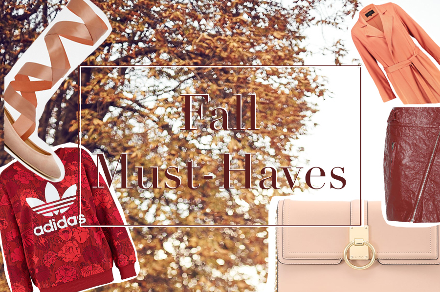 Fünf Herbst Must-Haves