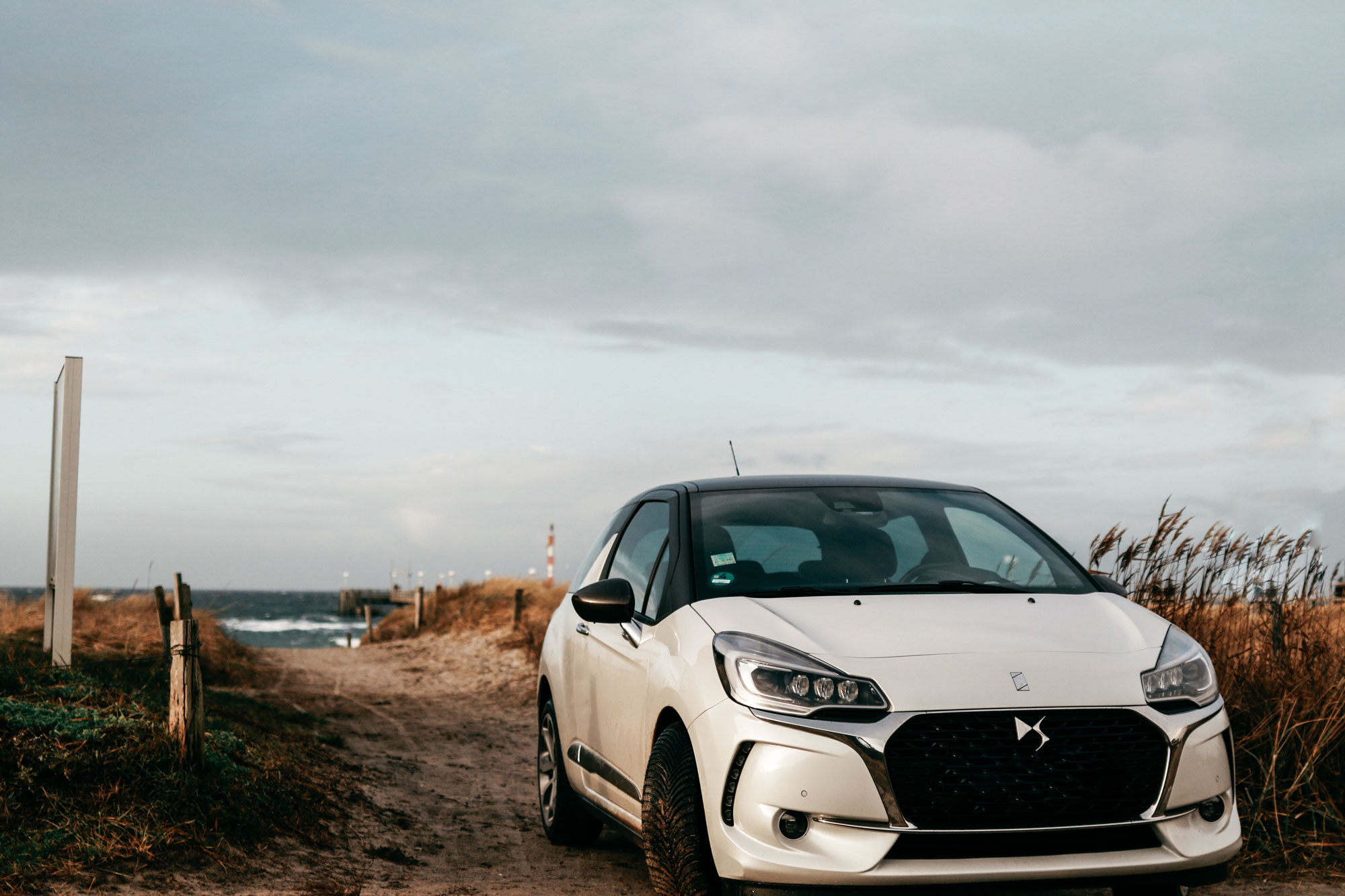 On the road with my DS3 | destination: Ostsee, Gespensterwald