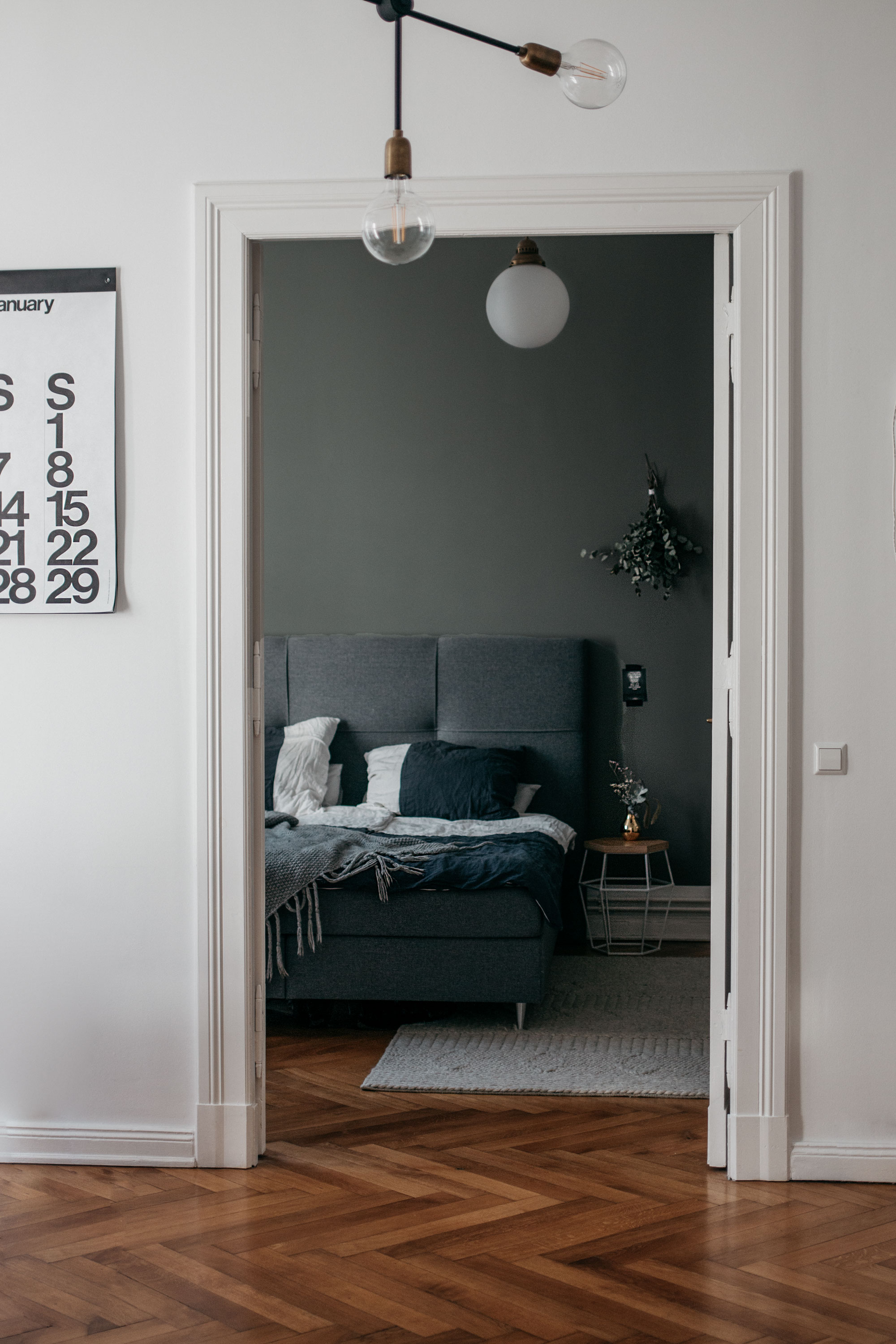 Bedroom inspiration | interior goals | scandinavian home in Berlin Mitte | apartment