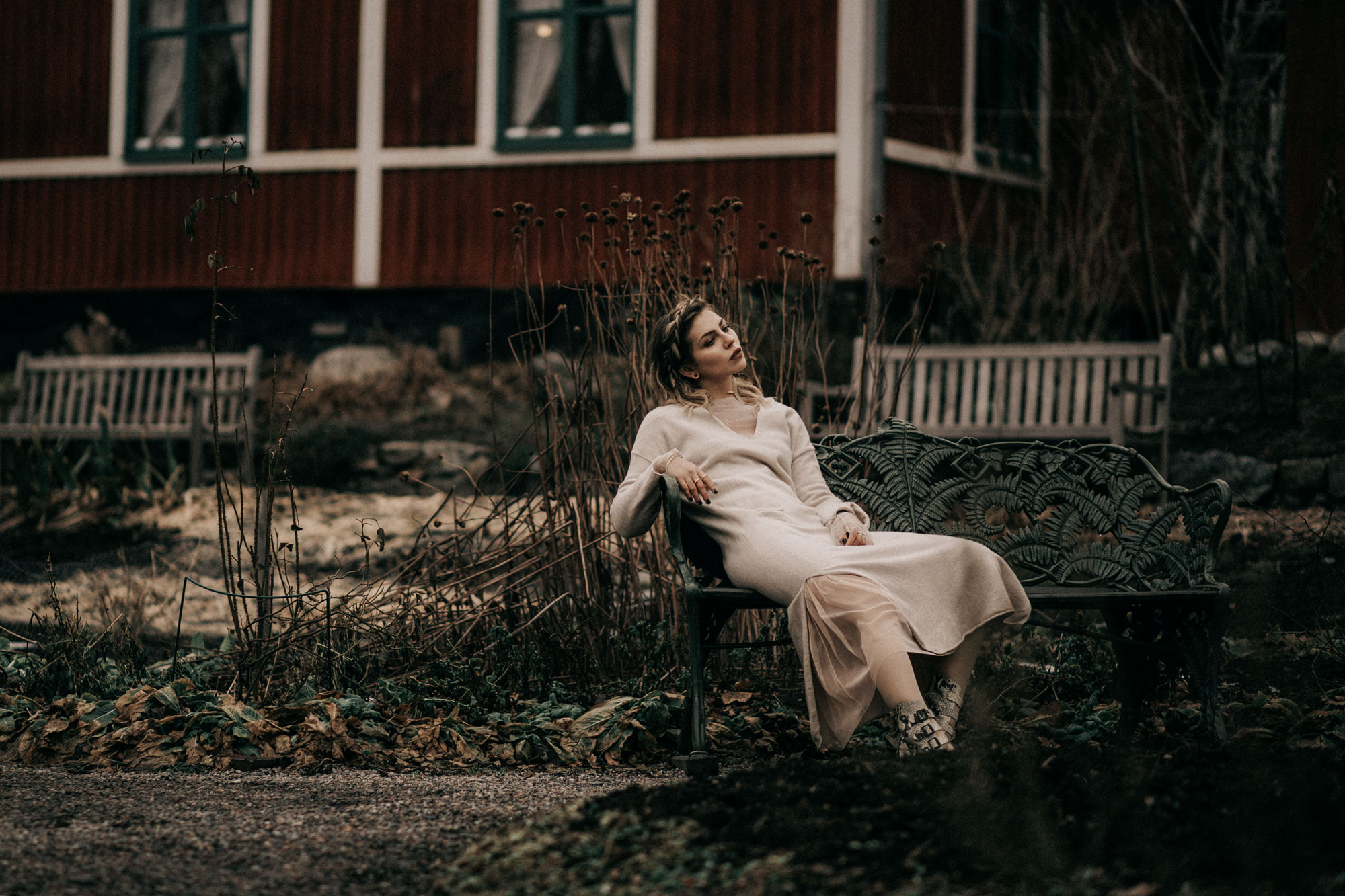 Fashion Editorial: Traditional Sweden | style: folklore, winter, moody, edgy, natural + 5 tips for a more hygge life | location: Skansen, Stockholm