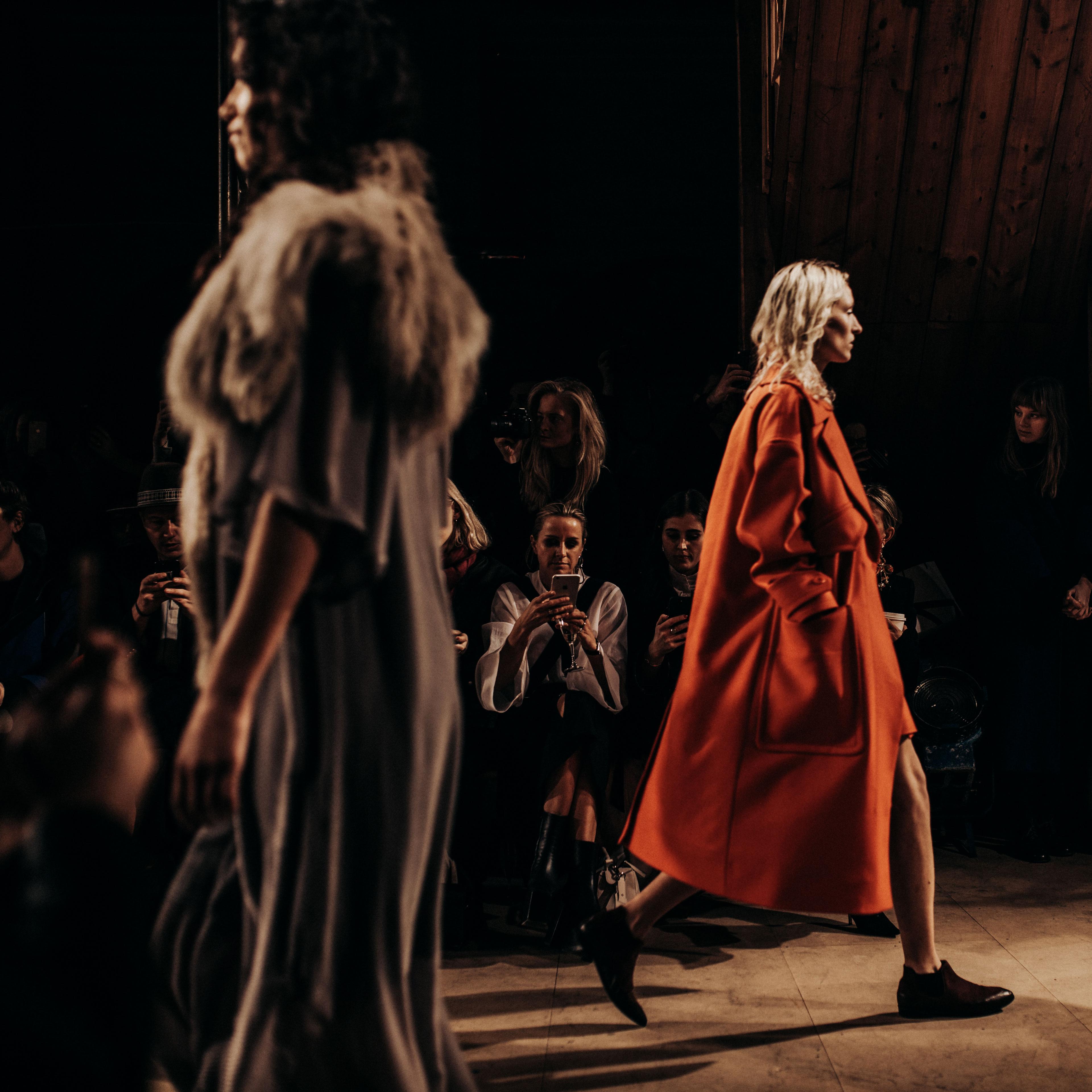 В первых рядах, неделя моды в Стокгольме, Блоггер Маша Седжвик