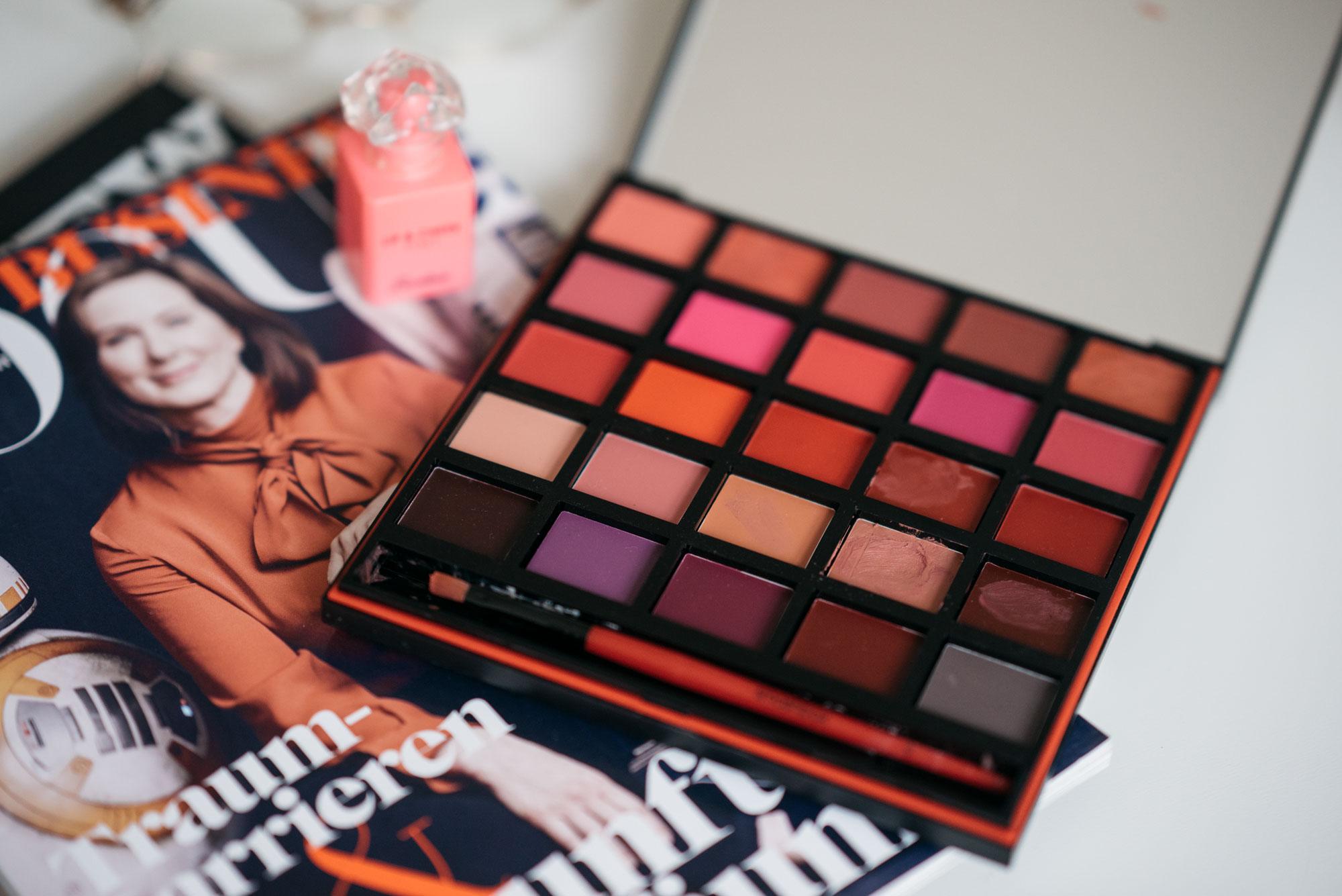 Smashbox Matte Lipsticks Palette Flatlay