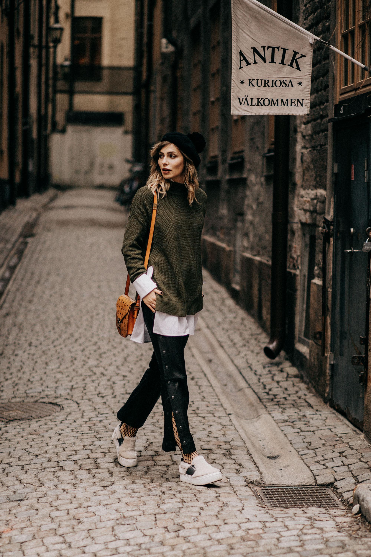 Образ недели моды в  Стокгольме и Копенгагене |  уличный стиль | лейблы: блузка с рукавами от Lala Berlin