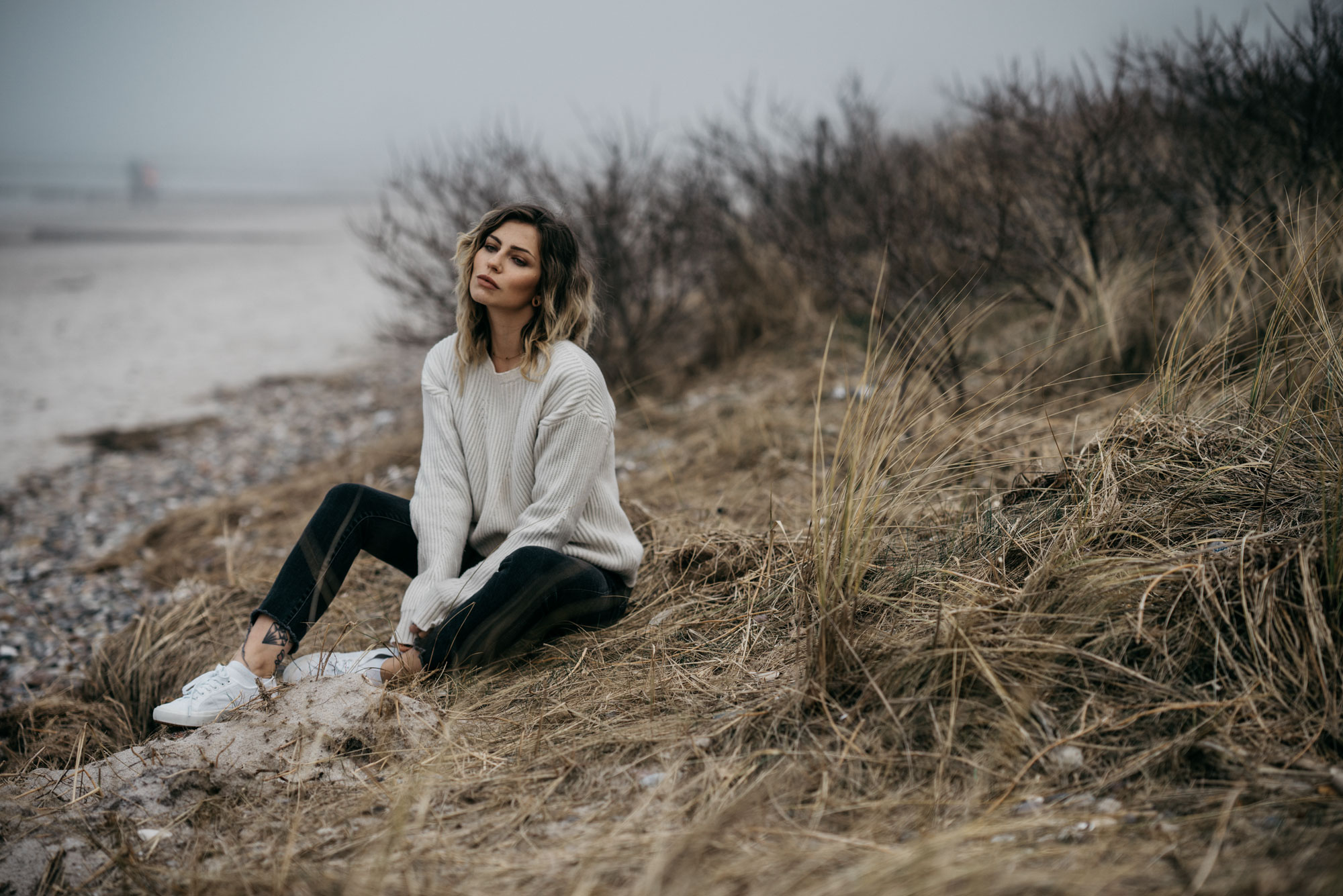 Baltic Sea Fashion Editorial | style: cool, effortless, simple, nature, emotional