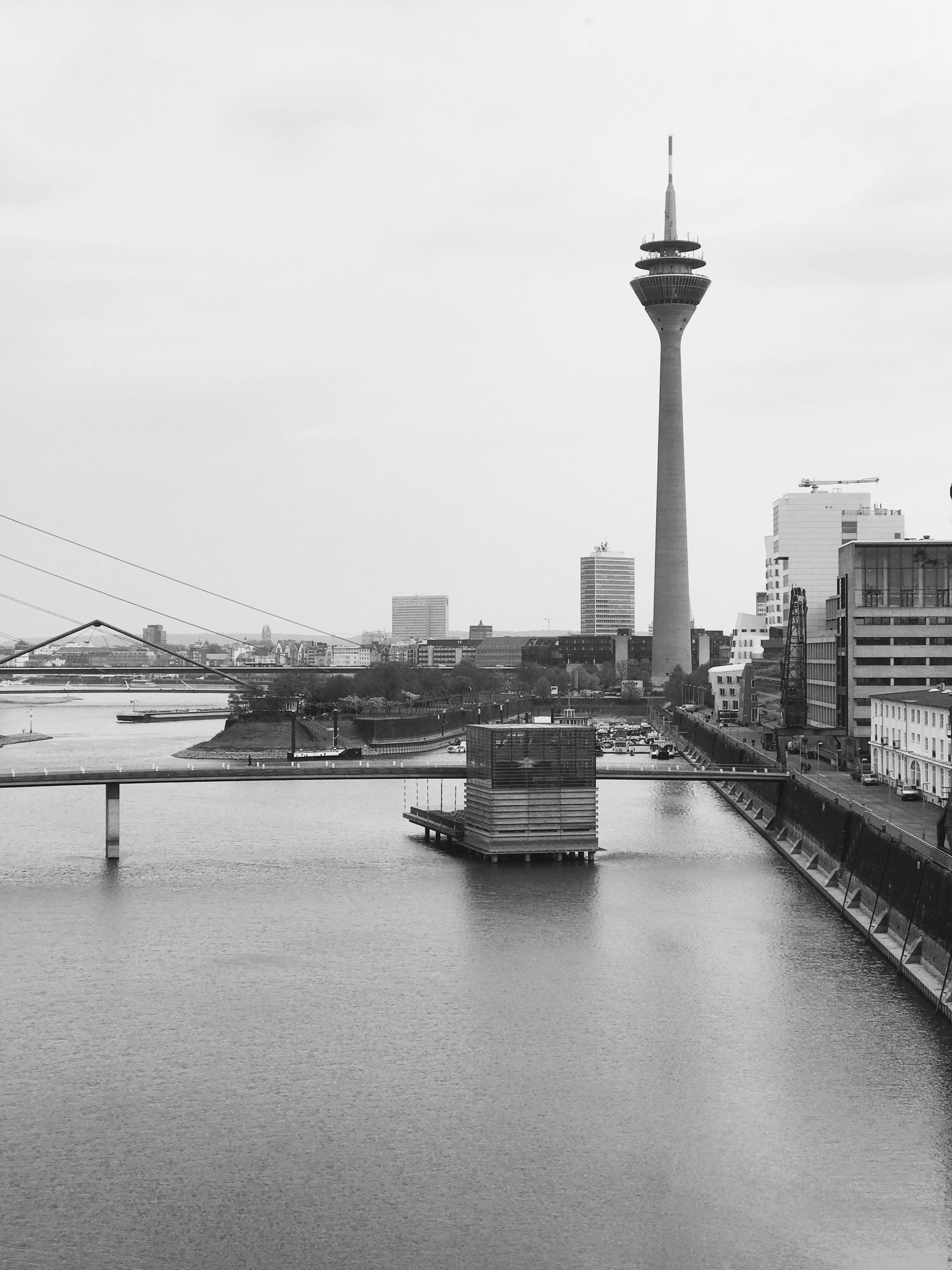 Düsseldorf, Rhein, Lake