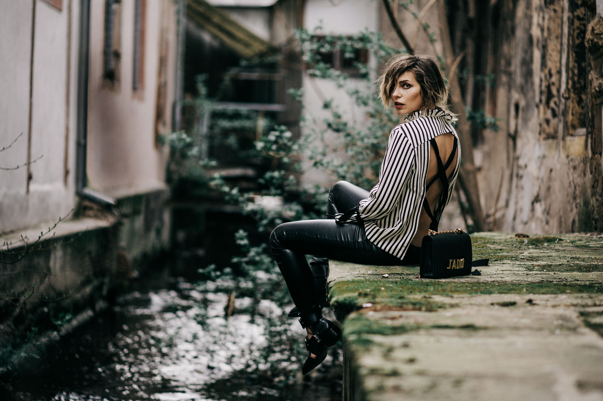 How to style an open back blouse, Masha Sedgwick, Berlin, Blog, Blogger, Germany, Romantic, Vernorexia