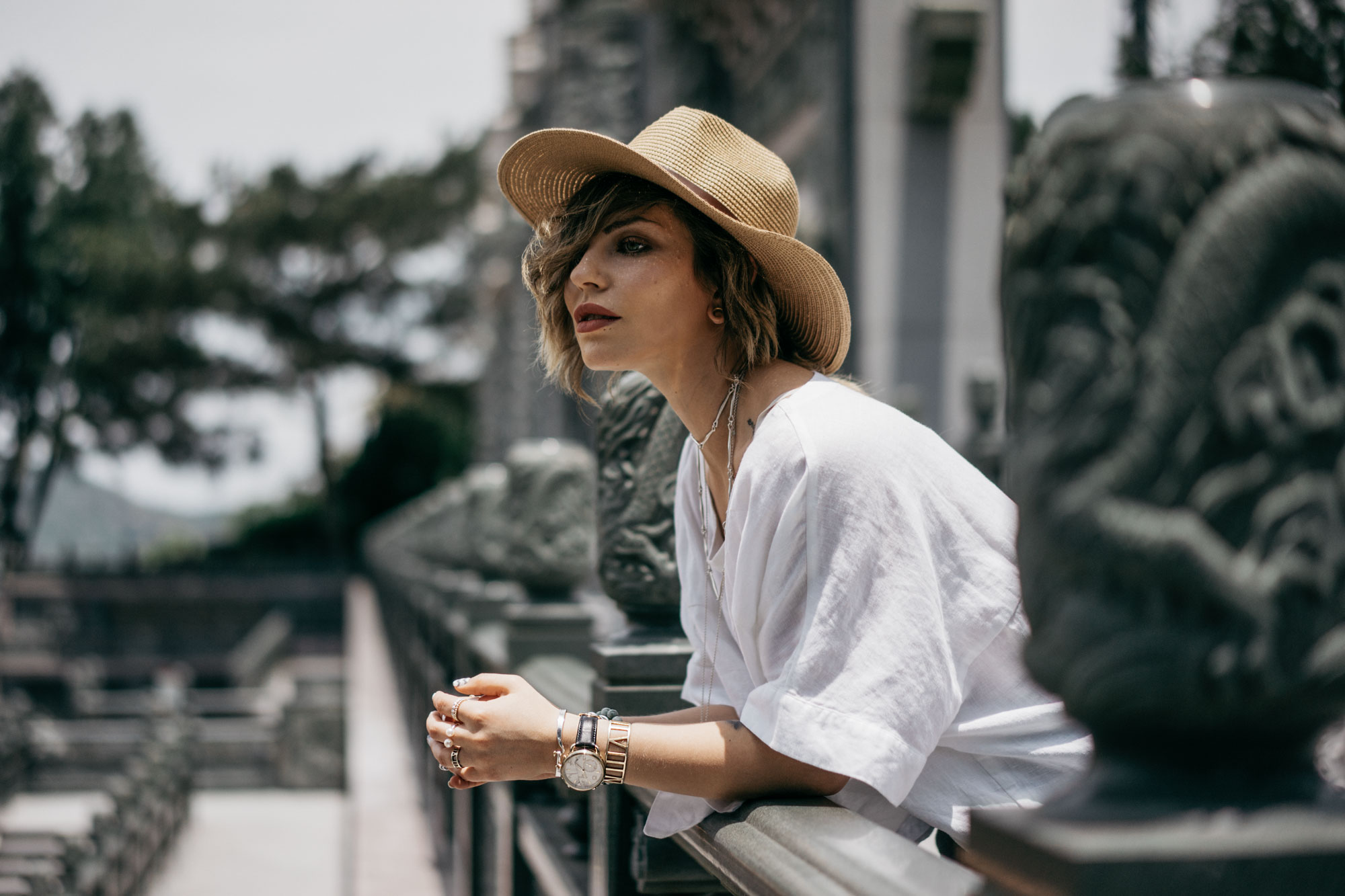 Masha Sedgwick, Slow the world down, Taiwan, Outfit, how to style a white blouse, summer holiday outfit, casual, relaxed, Berlin fashion blogger