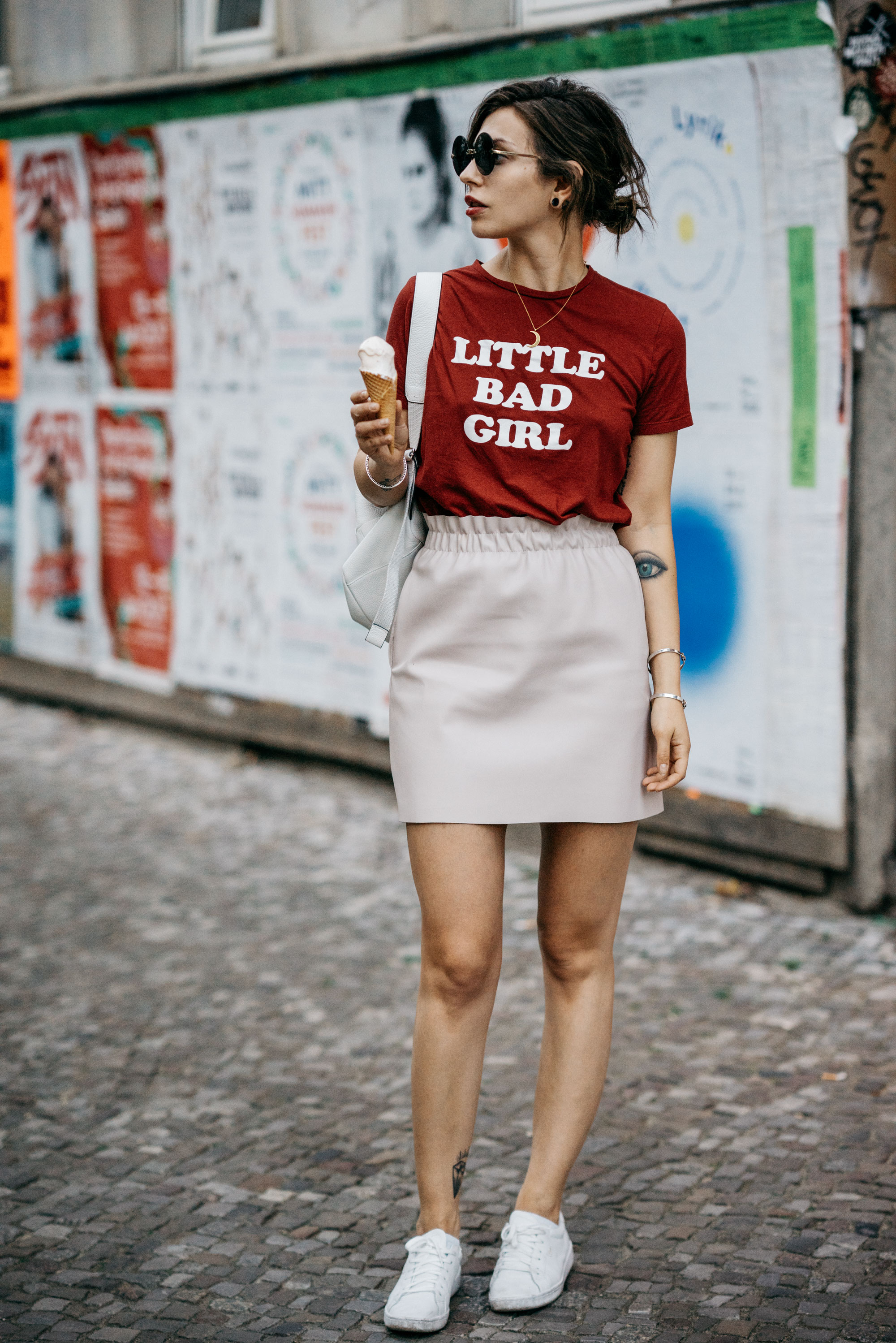 Little Bad Girl Shirt | Sommer Outfit