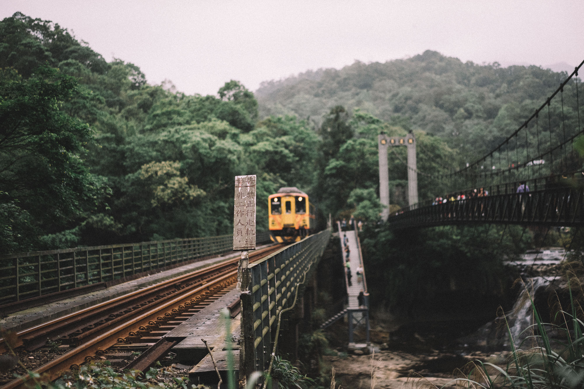 Taiwan | Taroko with the train