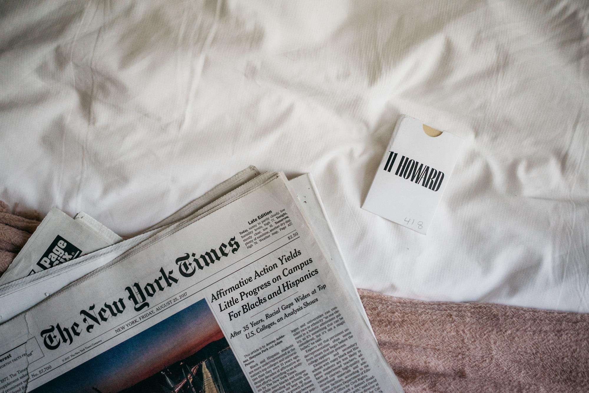 Masha Sedgwick; New York; Hotel Review; 11 Howard; Soho; Blogger; Germany