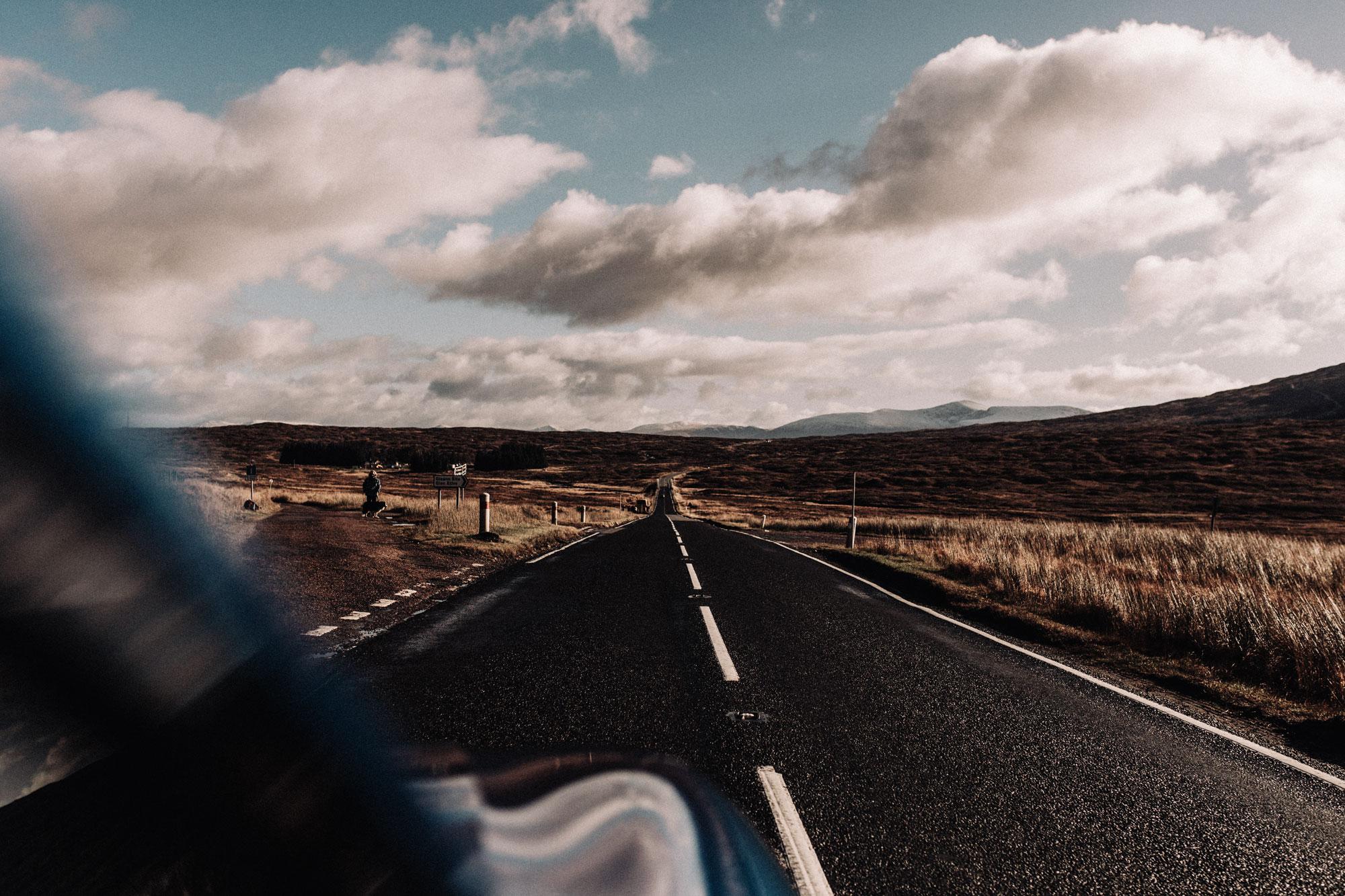 Schottland Roadtrip | Hörbuch Tipps | Landschaft | Highlands | Lieblingshörbuch | Audible | Empfehlung | Erfahrung | Reise | Urlaub | Natur | Fotografie | Strasse