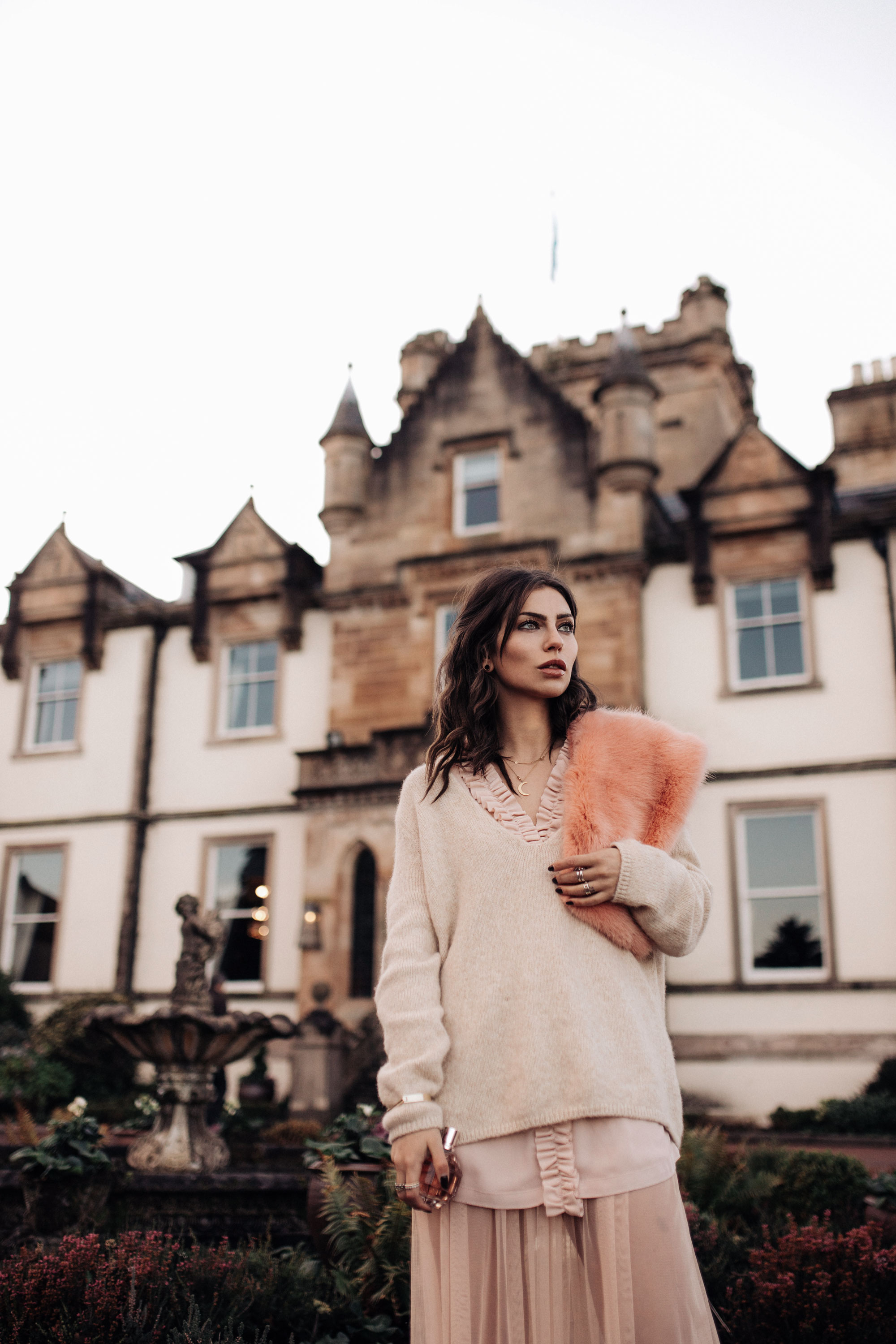 Flowerbomb | Viktor & Rolf | Blogger Fashion Editorial | Fragrance | Cameron House Hotel | Scotland