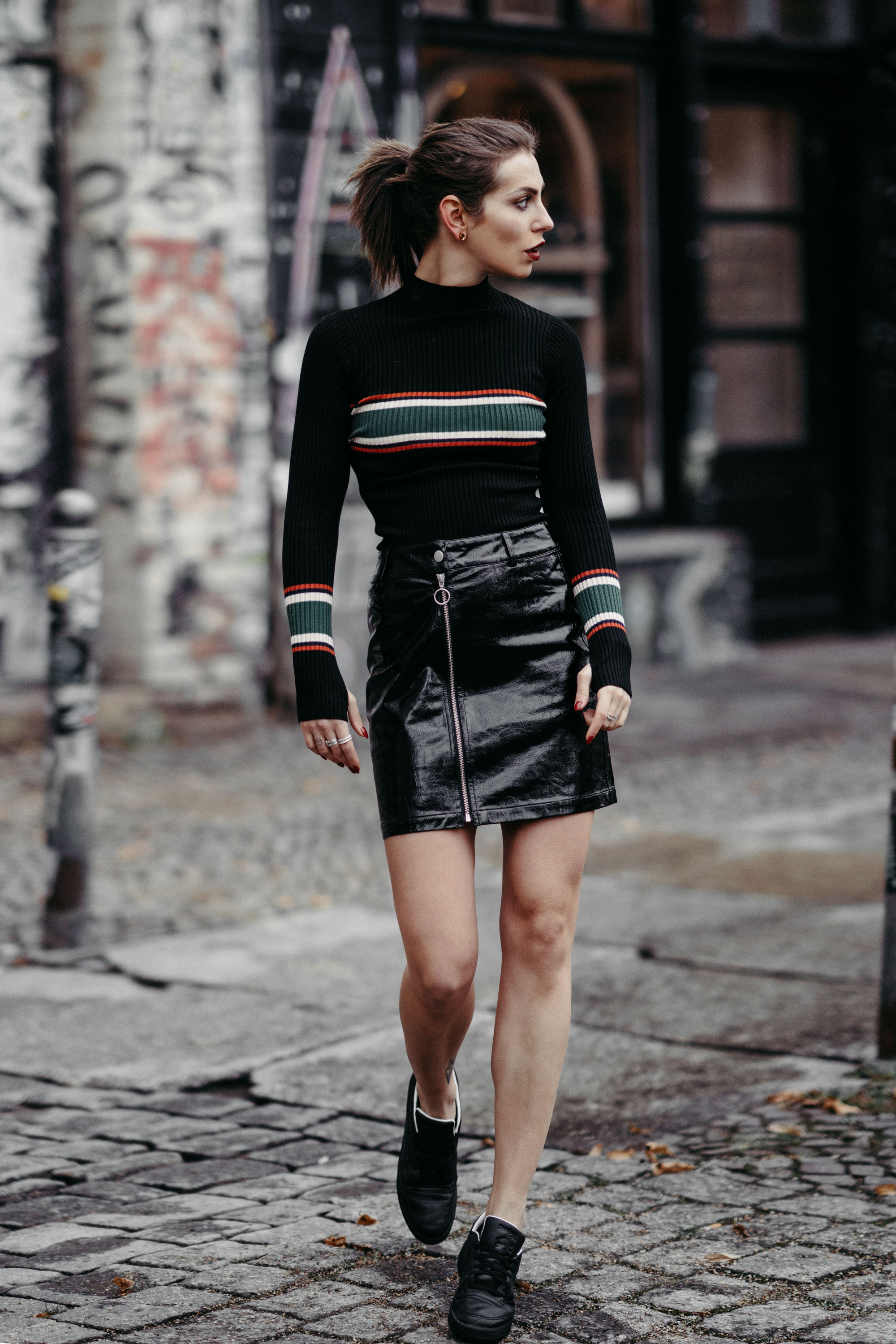 Zalando Style of the Day | Masha Sedgwick | Street Style | Mode | Marken: Topshop, Ivy Revel, Vans, Selected Femme, The Kooples, Holzweiler | Berlin | Street Wear zum Nachstylen | Alltag | Wochenrückblick | 2018