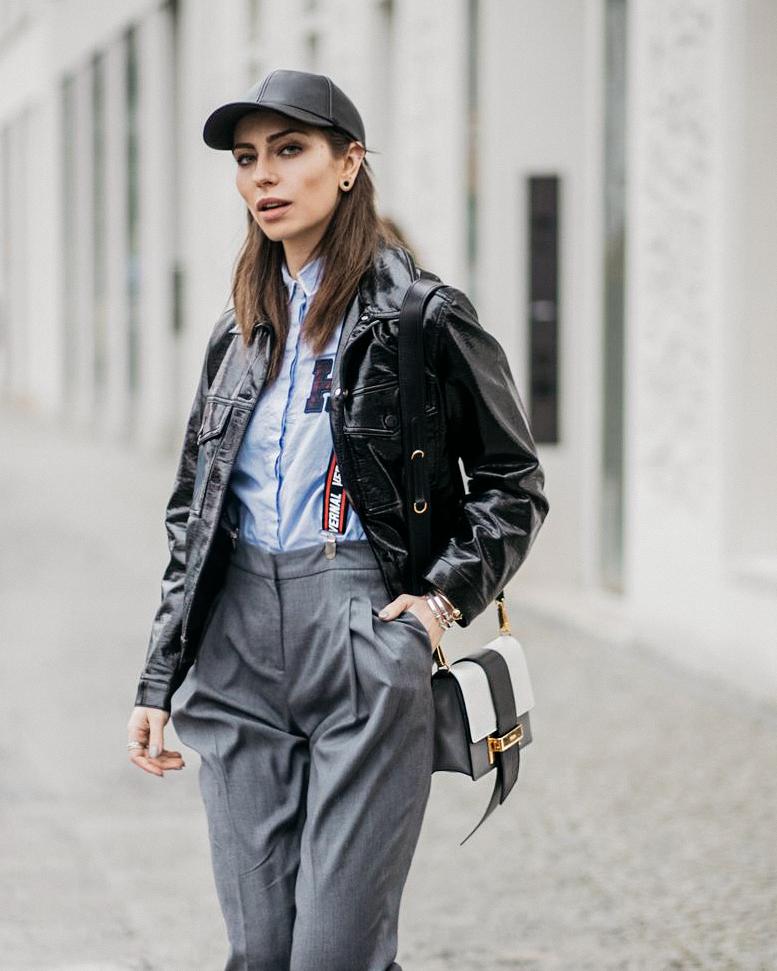 Street Style | Street Wear | Outfit | Fashion Week Berlin | Tomboy | Hosenträger kombinieren | sportlich, casual, sexy, edgy