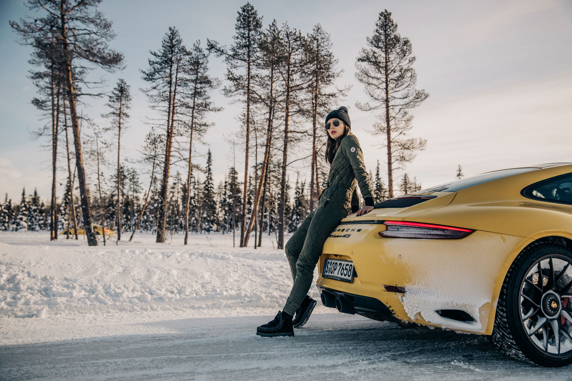 Porsche Ice Experience in Levi, North Finland | 911, Carrera, Panamera, 718 | Drifting | driving safety training
