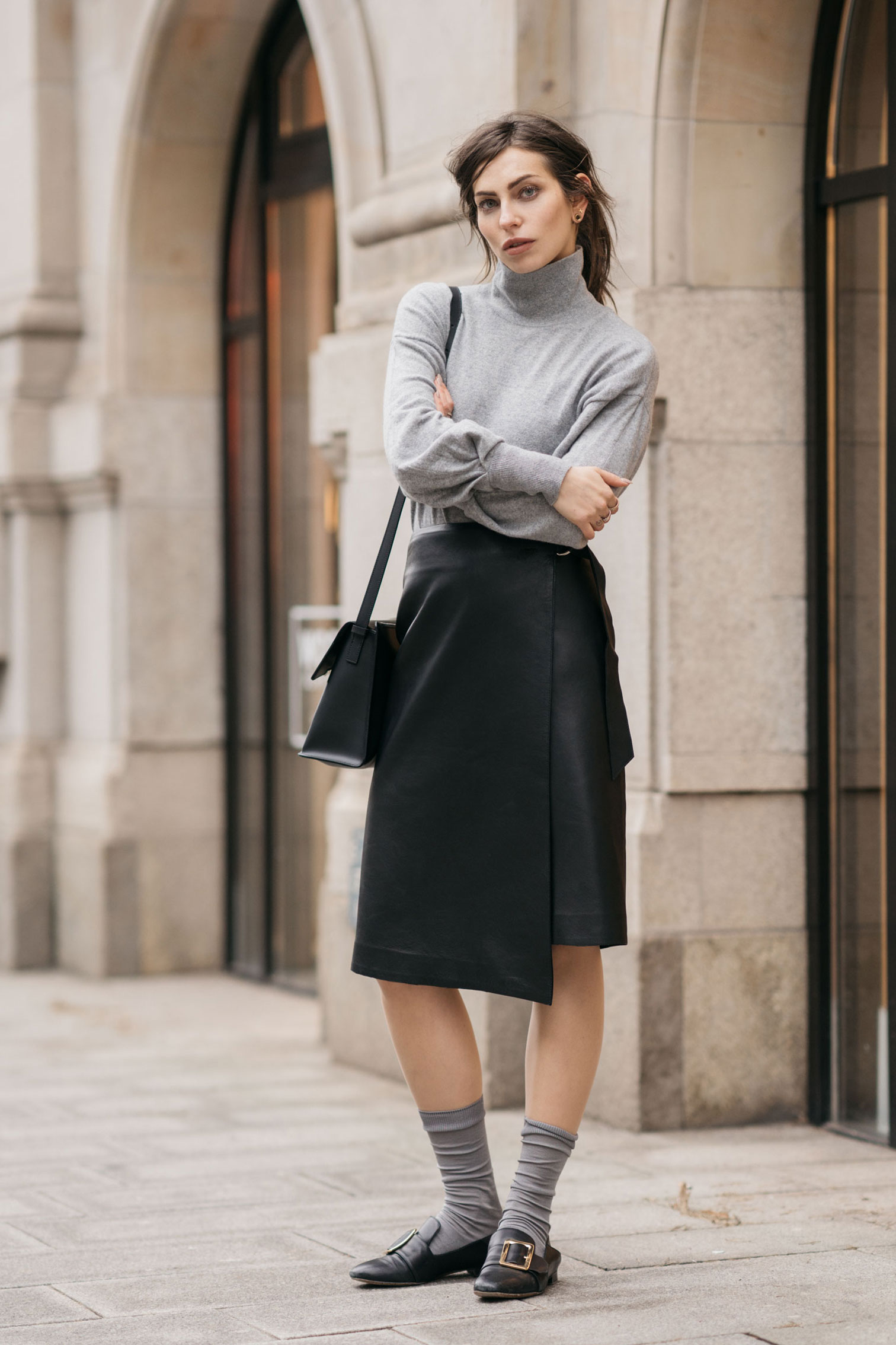 Street Style in Berlin | Fashion | Mode | Inspiration | Style: edgy, cool, casual | Parisienne | French Chic