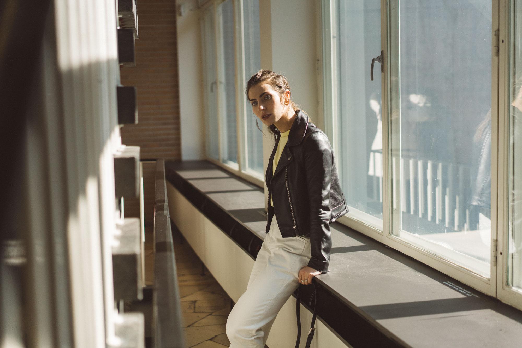 CO Berlin Amerika Haus | Charlottenburg | Indoor Shooting | Editorial | Outfit: Closed | Masha Sedgwick with Boyfriend David Jacob
