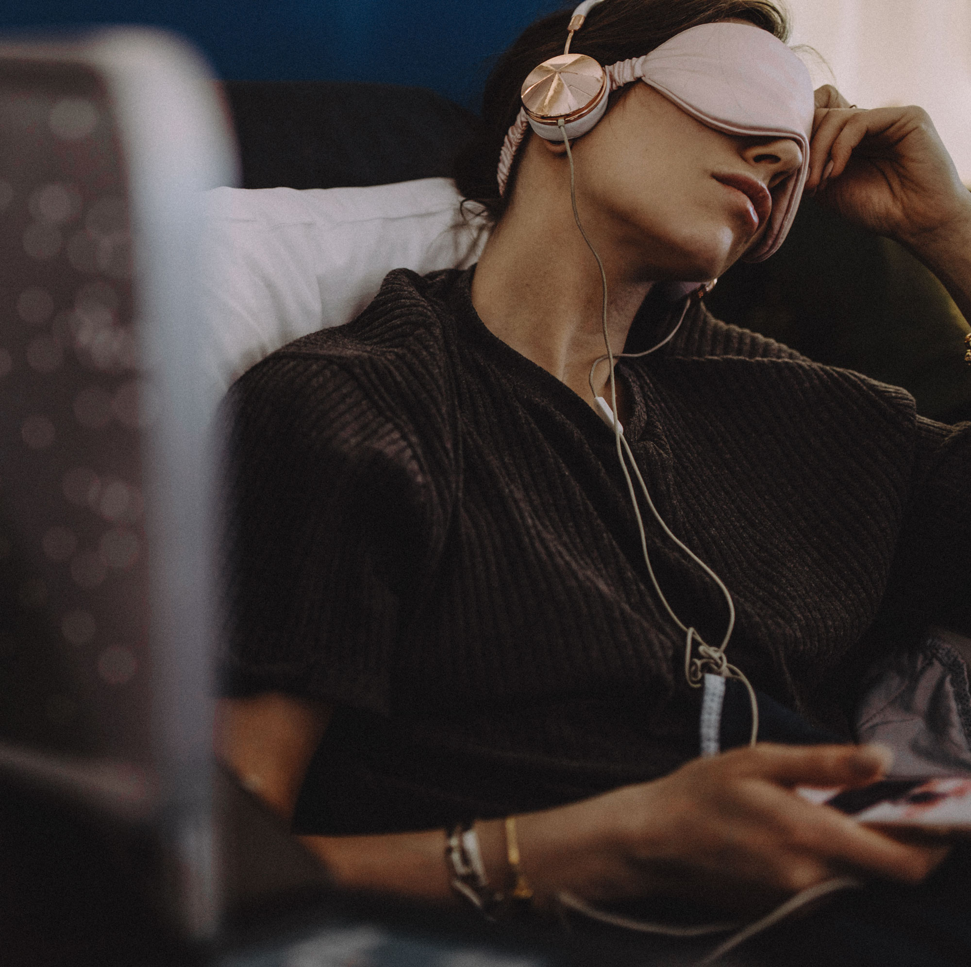 Flugzeug | Musik und Hörbücher hören | Tipps | Audible | Business Class