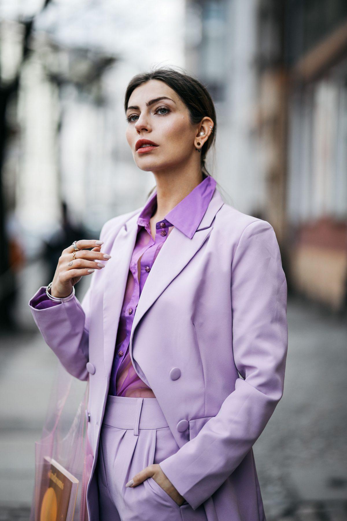 The Purple Suit