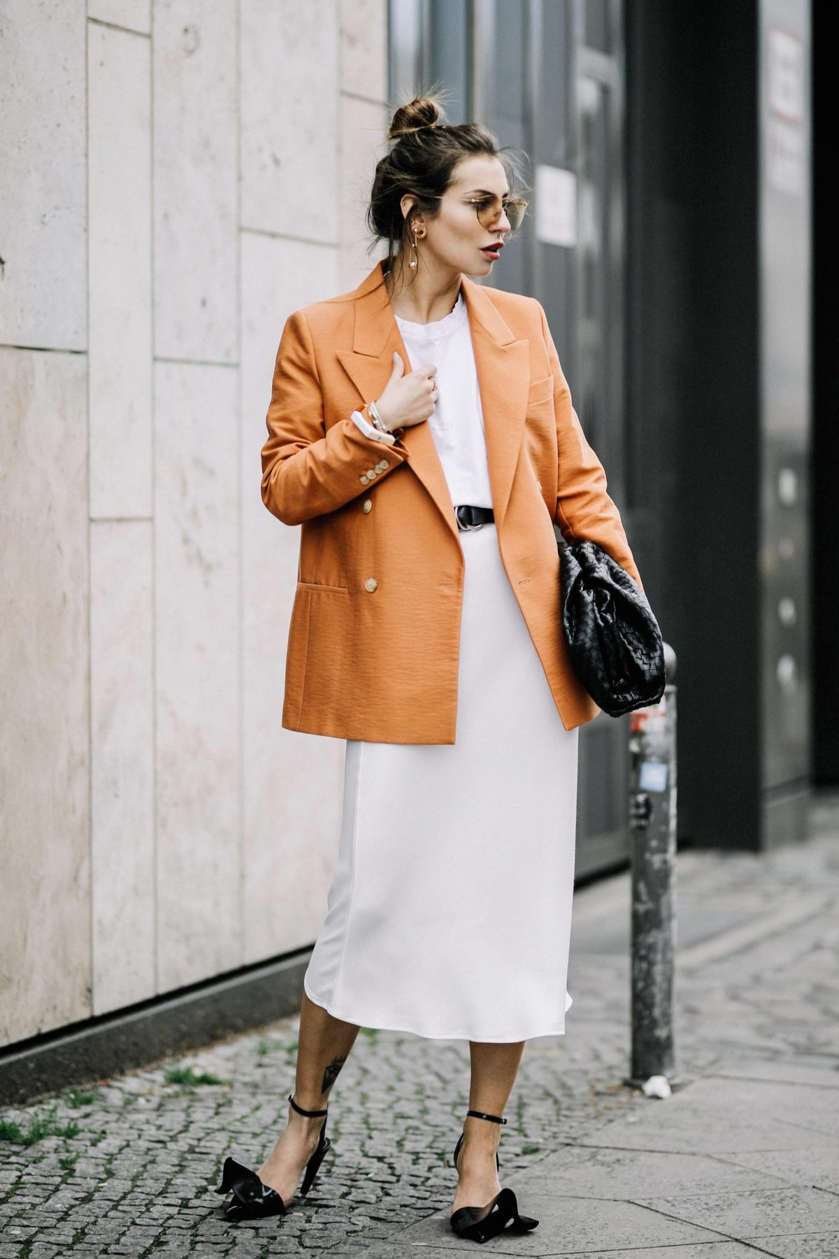 The Orange Blazer