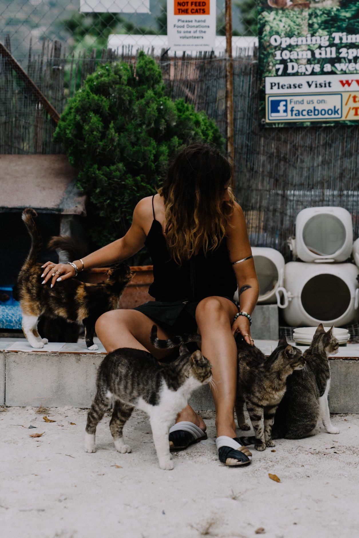 Travel tips, fashion blogger traveling, Turkey, Cyprus summer trip. Old city, architecture, cat farm
