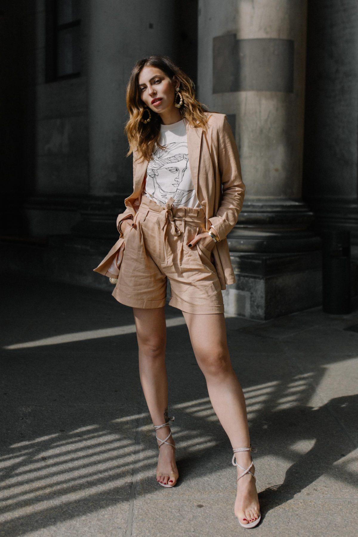The Linen Suit